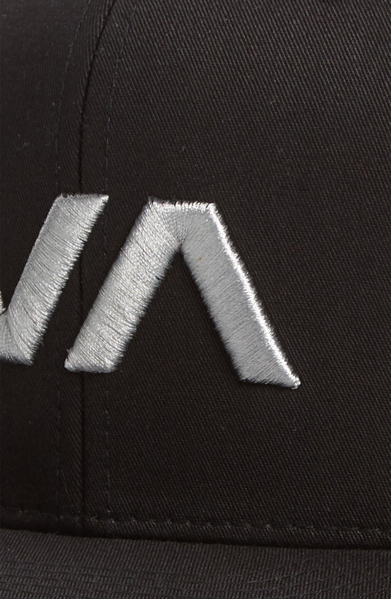 VA Snapback II Snapback Hat,                             Alternate thumbnail 3, color,                             001