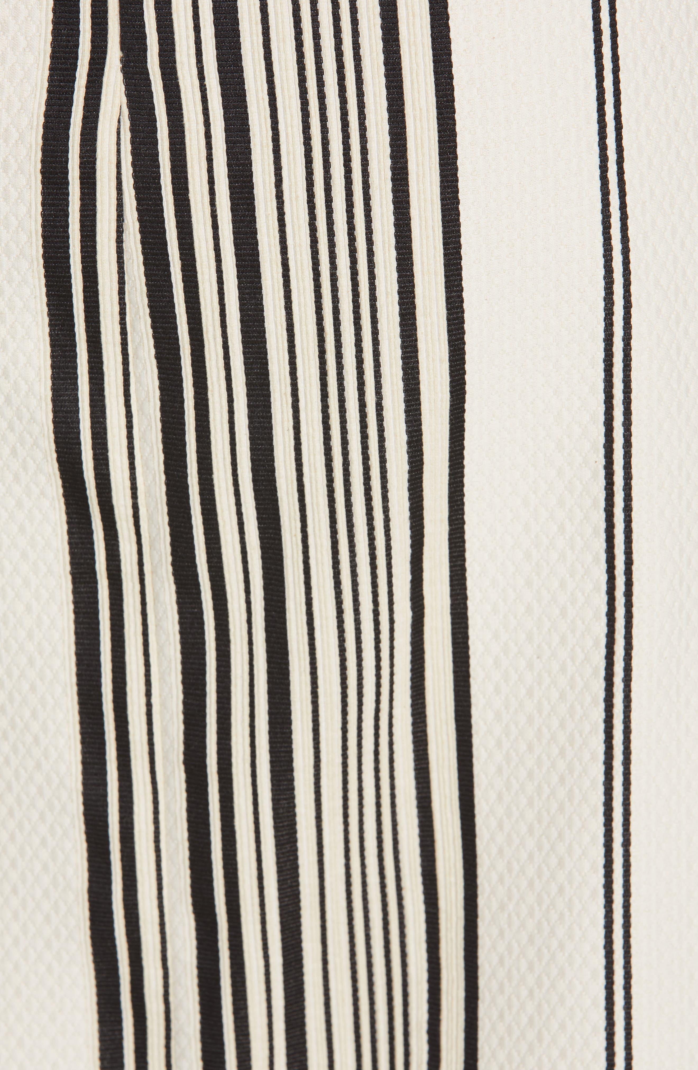 Eve Ero Dress,                             Alternate thumbnail 6, color,                             BLACK/ GREIGE