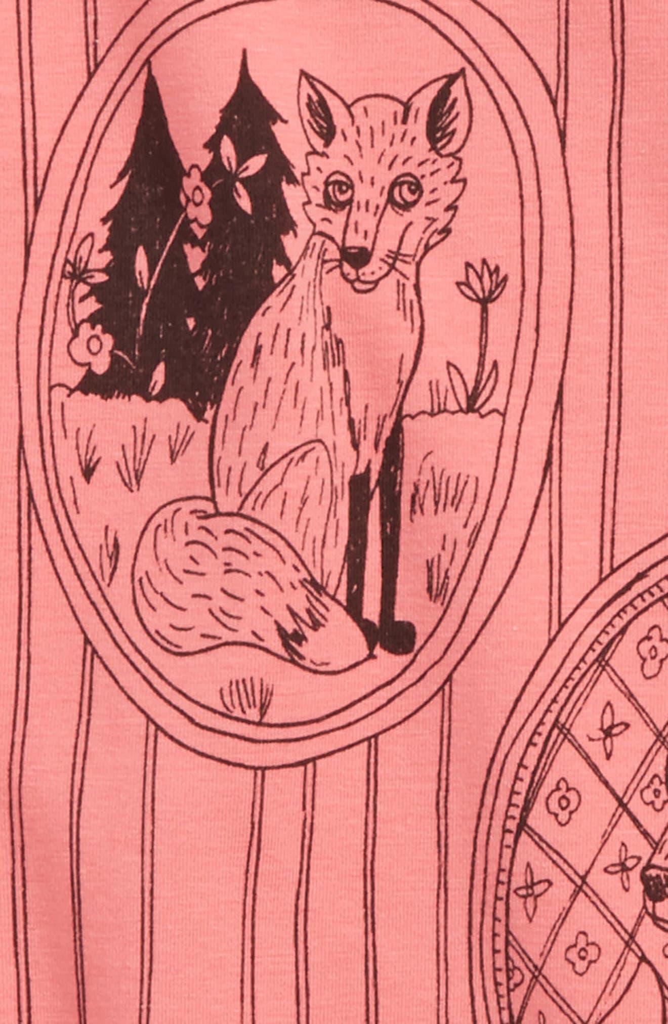 Fox Family Tee,                             Alternate thumbnail 2, color,                             650