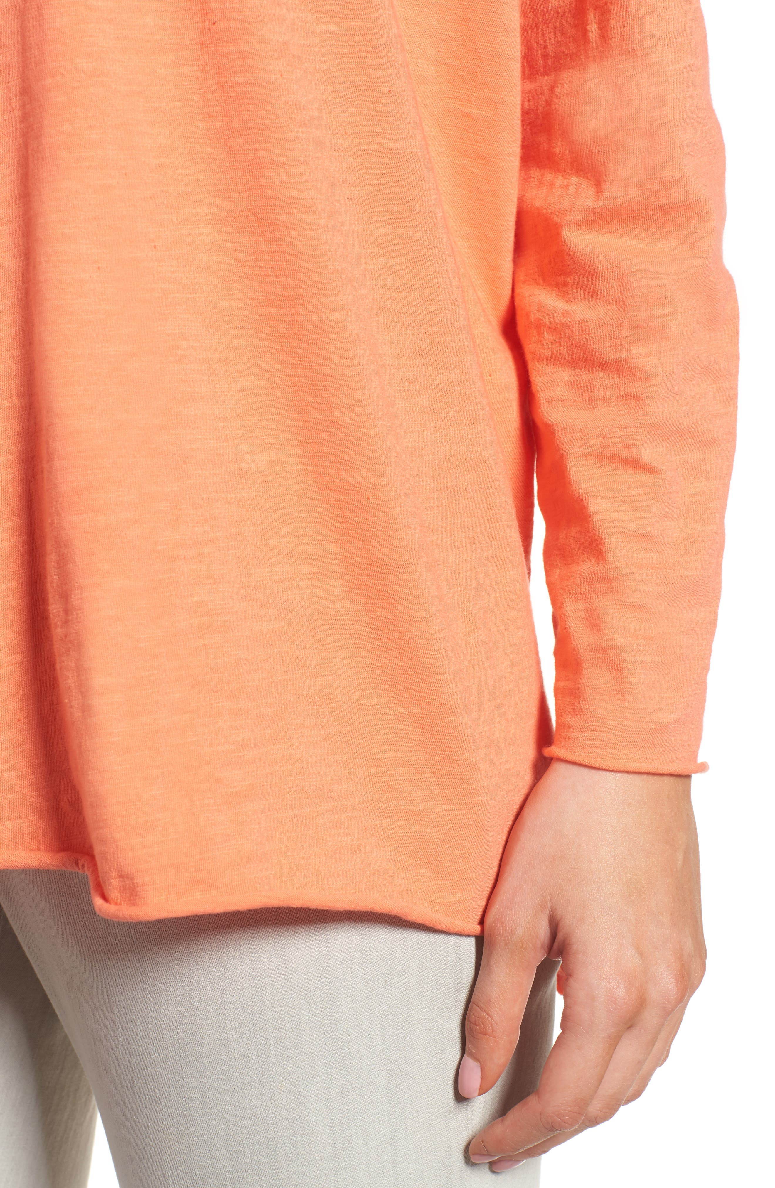 Organic Cotton Knit Top,                             Alternate thumbnail 36, color,