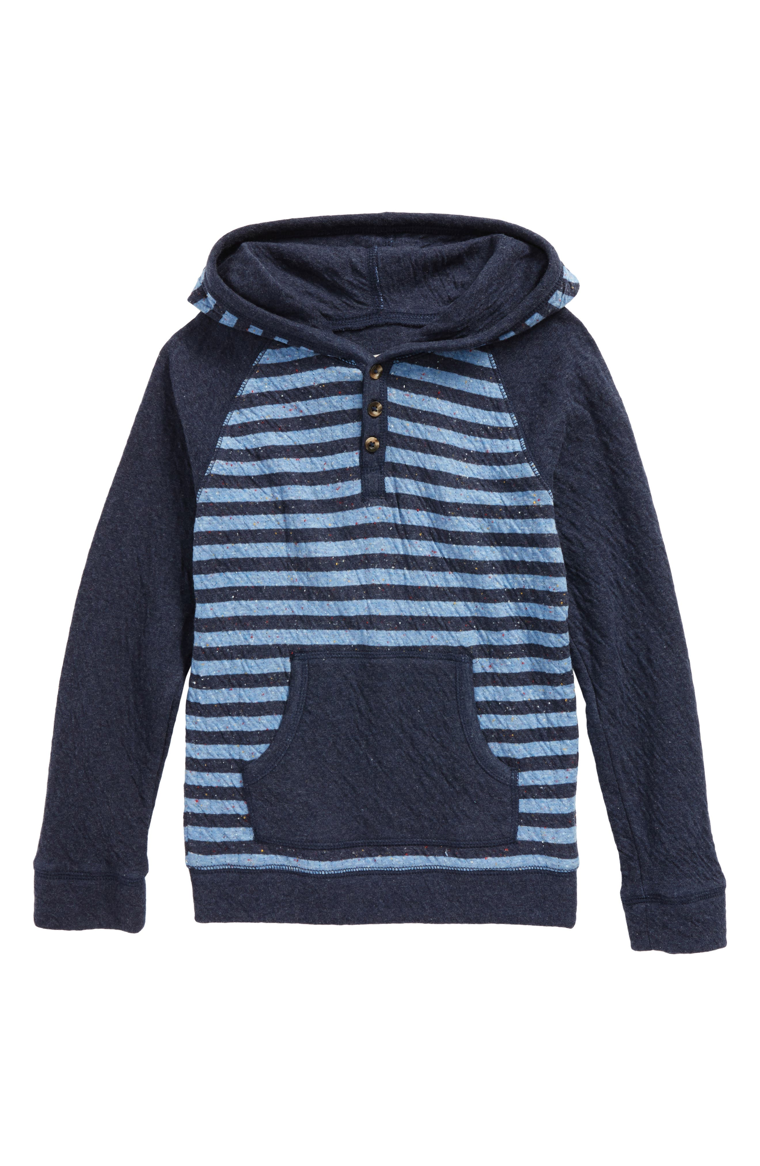 Stripe Pullover Hoodie,                         Main,                         color, 410