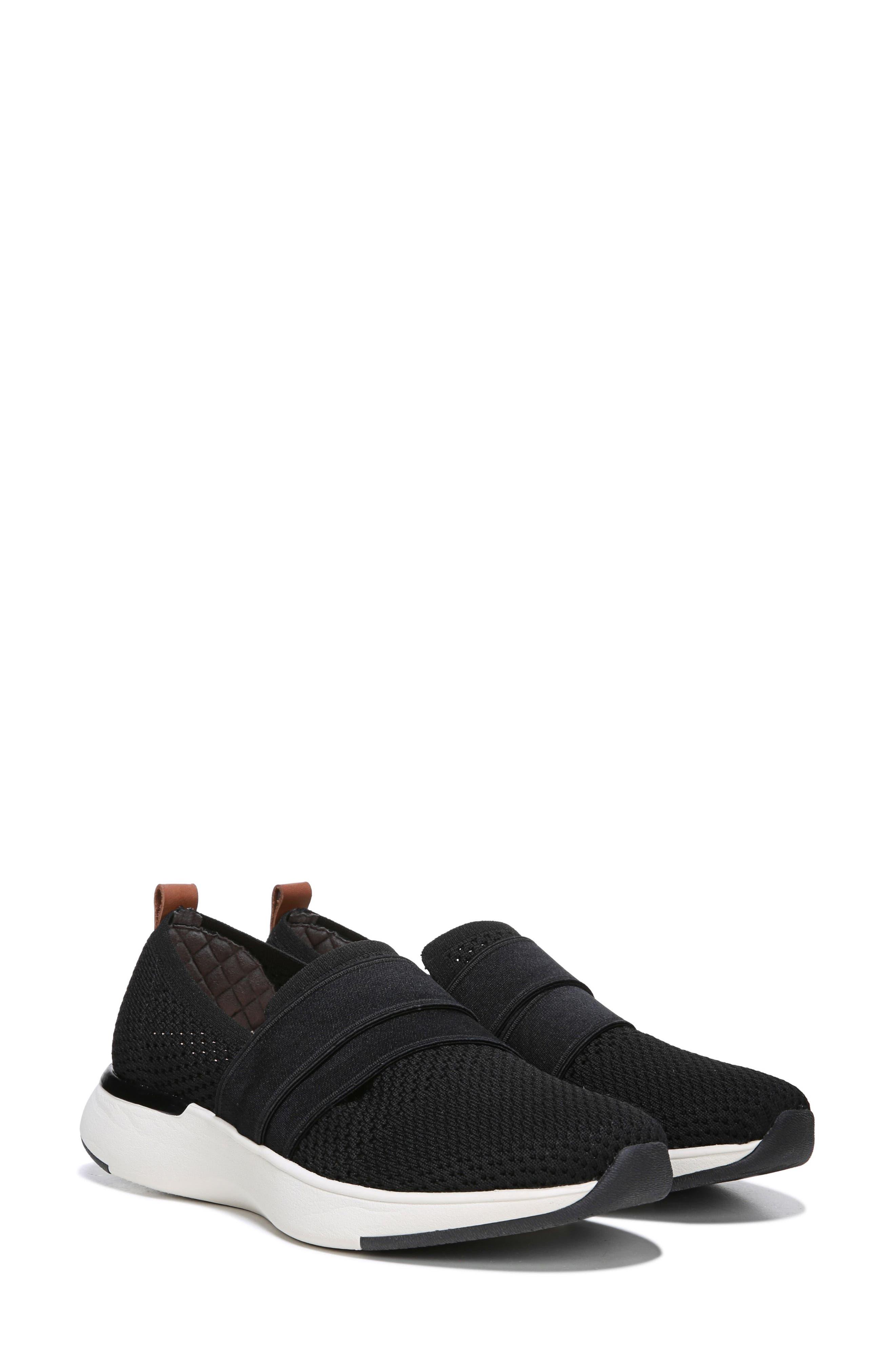 Slay All Day Sneaker,                             Alternate thumbnail 8, color,                             BLACK FABRIC