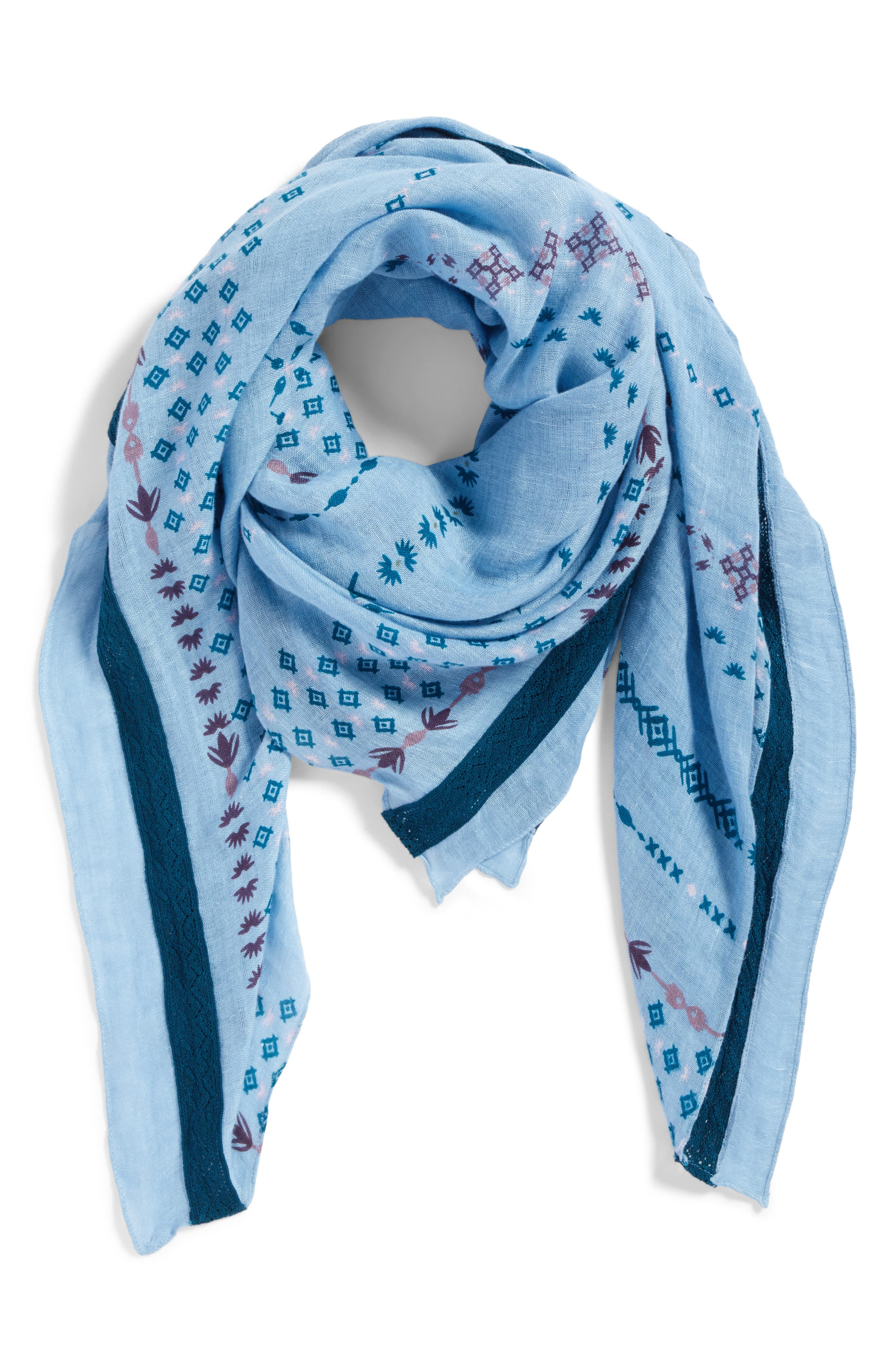 Mixed Print Scarf,                             Alternate thumbnail 2, color,                             420