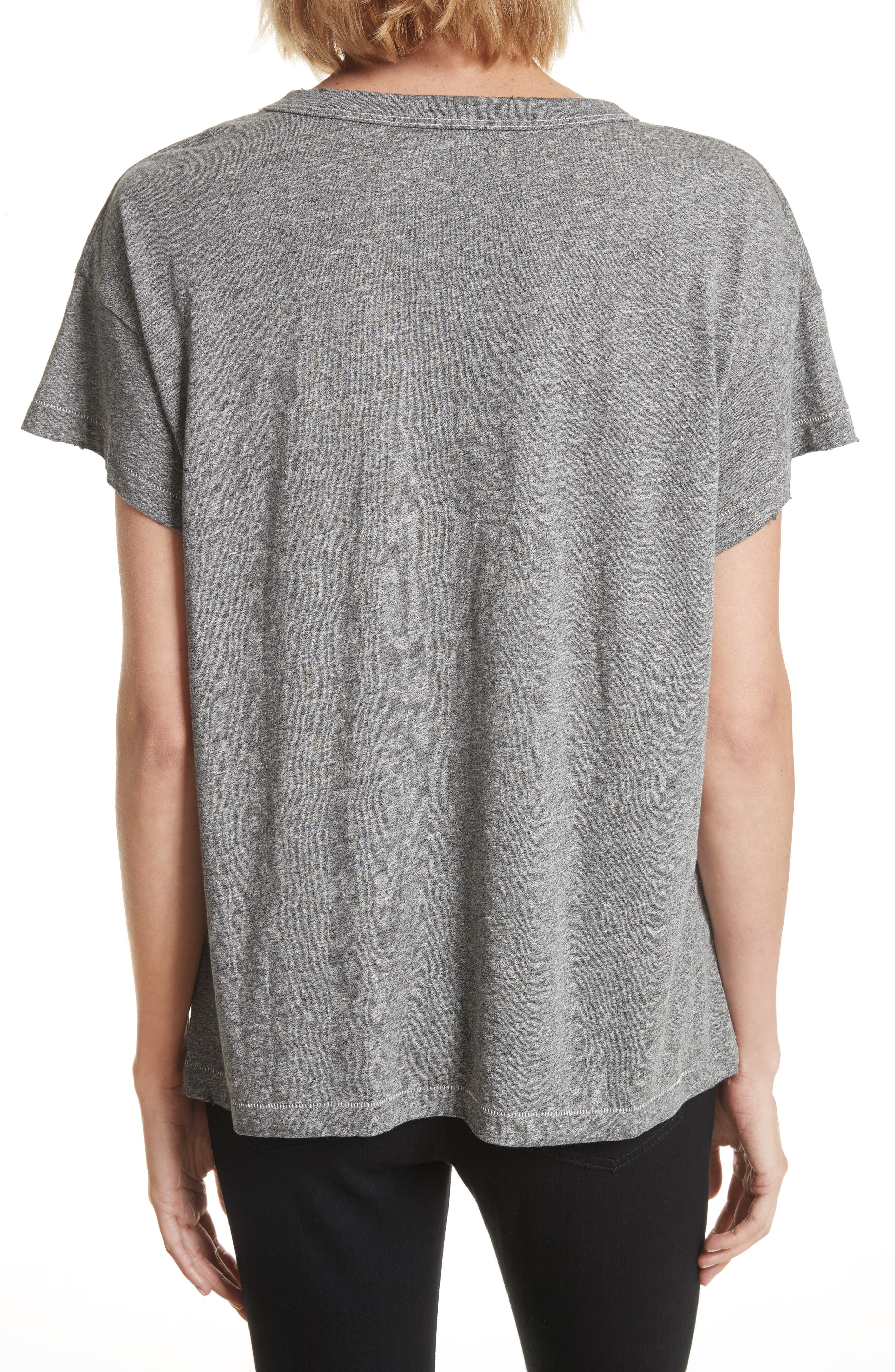 The Boxy Crew Tee,                             Alternate thumbnail 6, color,