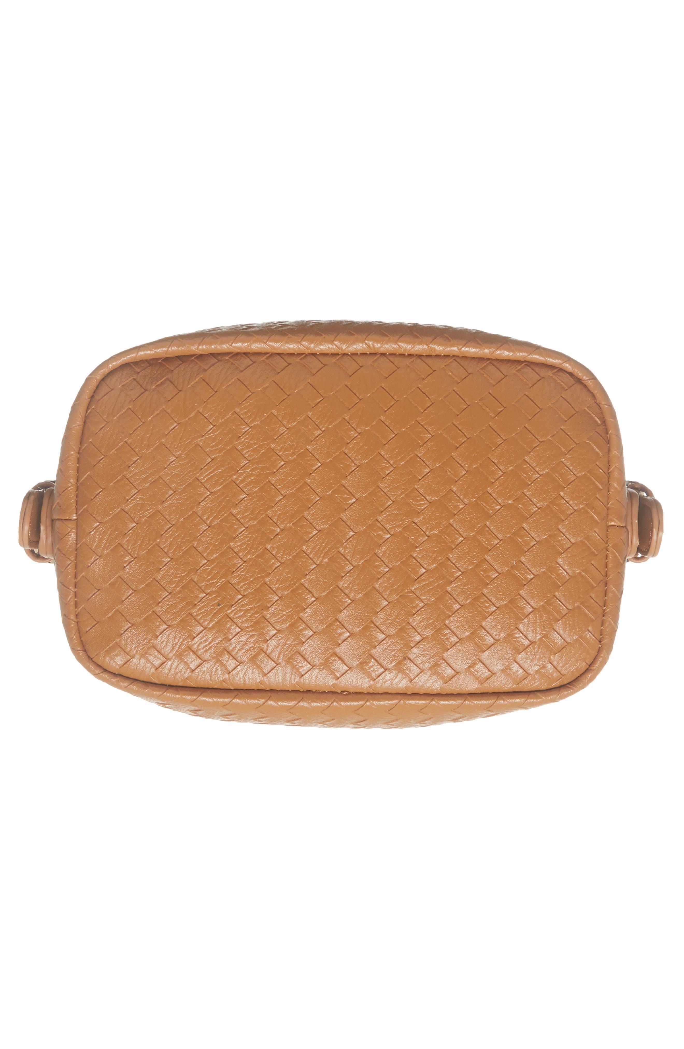 Patrice Woven Faux Leather Mini Satchel,                             Alternate thumbnail 12, color,