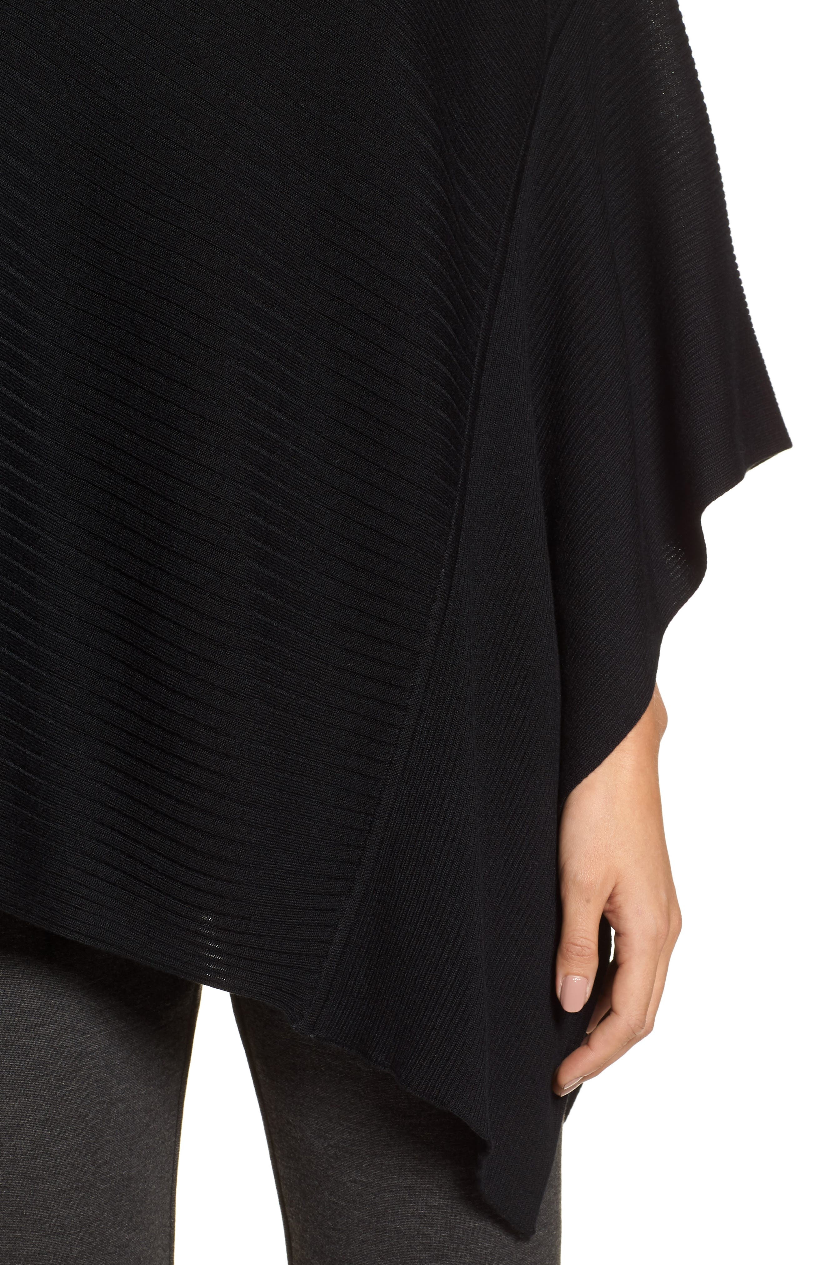 Bateau Neck Sweater Poncho,                             Alternate thumbnail 10, color,