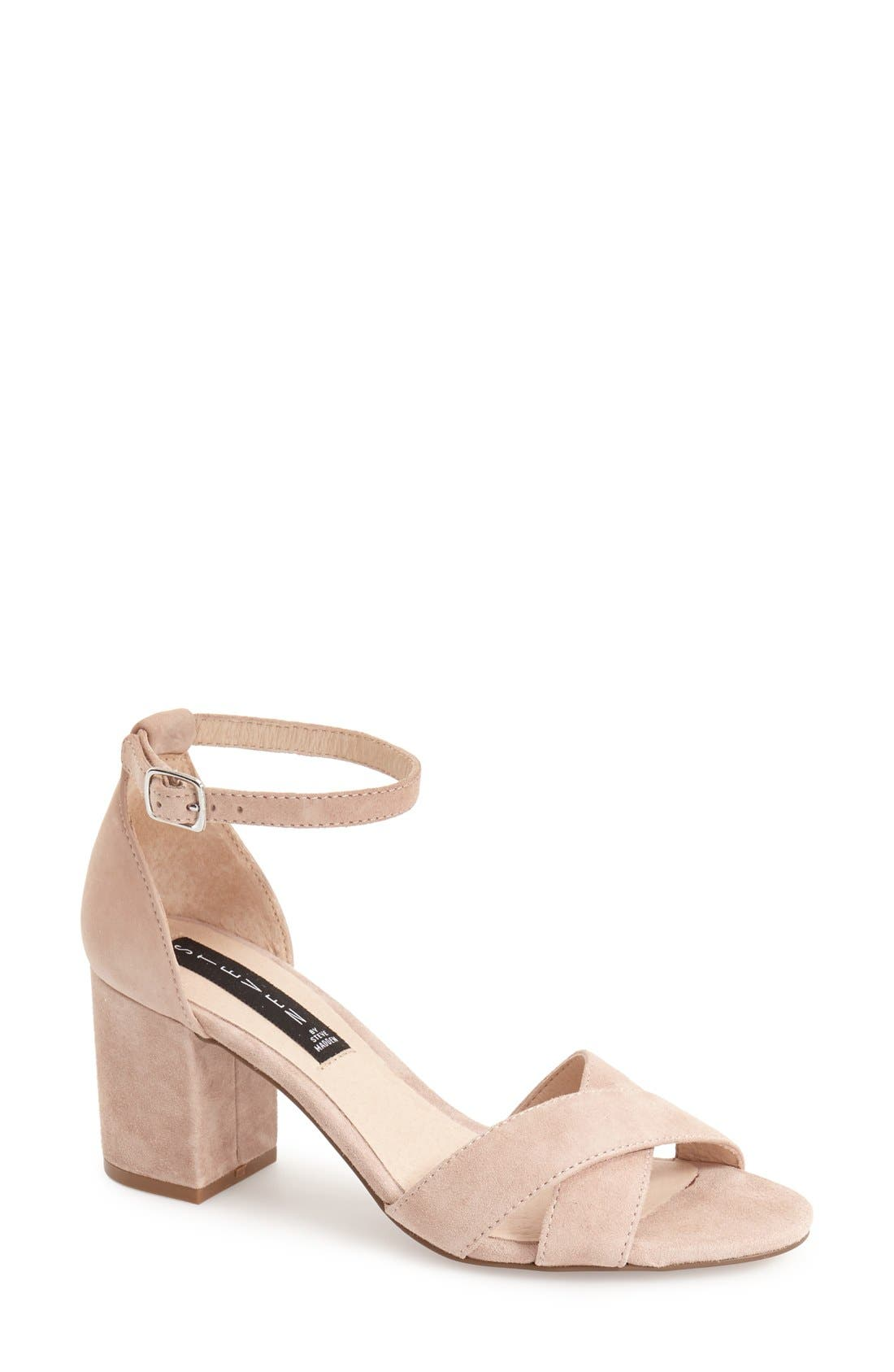 'Voomme' Ankle Strap Sandal,                             Main thumbnail 4, color,