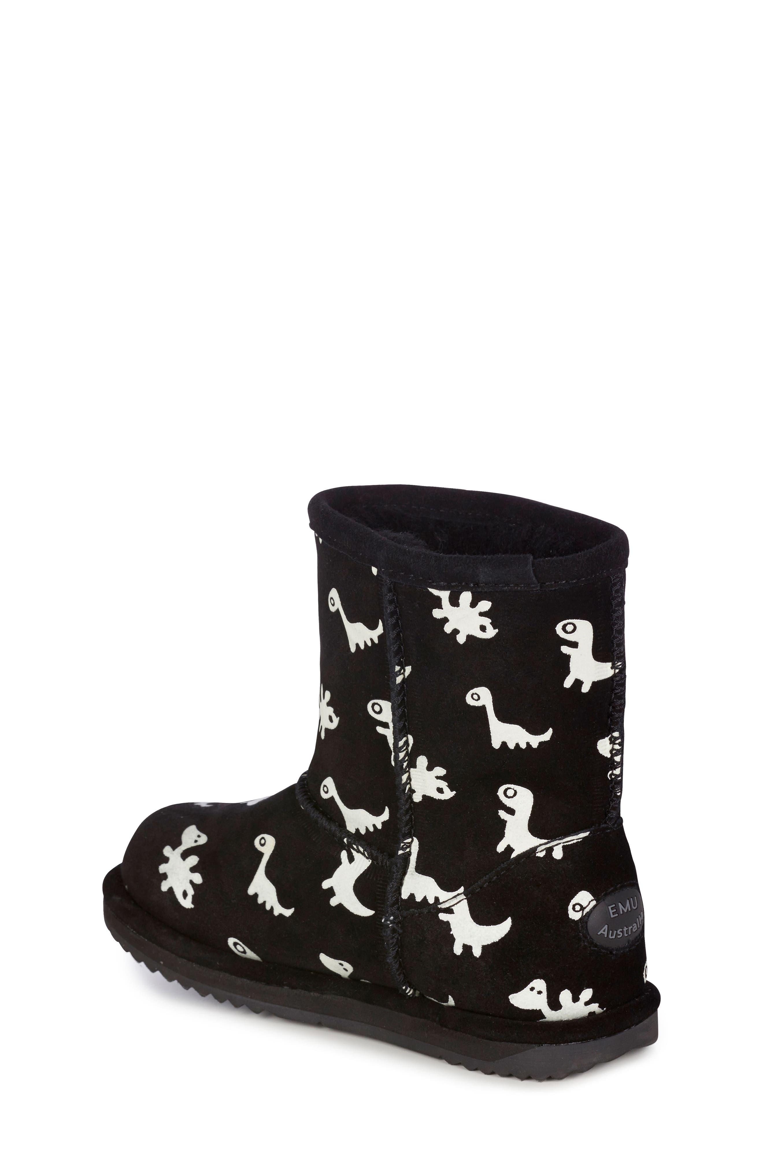 Animal Print Boots,                             Alternate thumbnail 2, color,                             BLACK