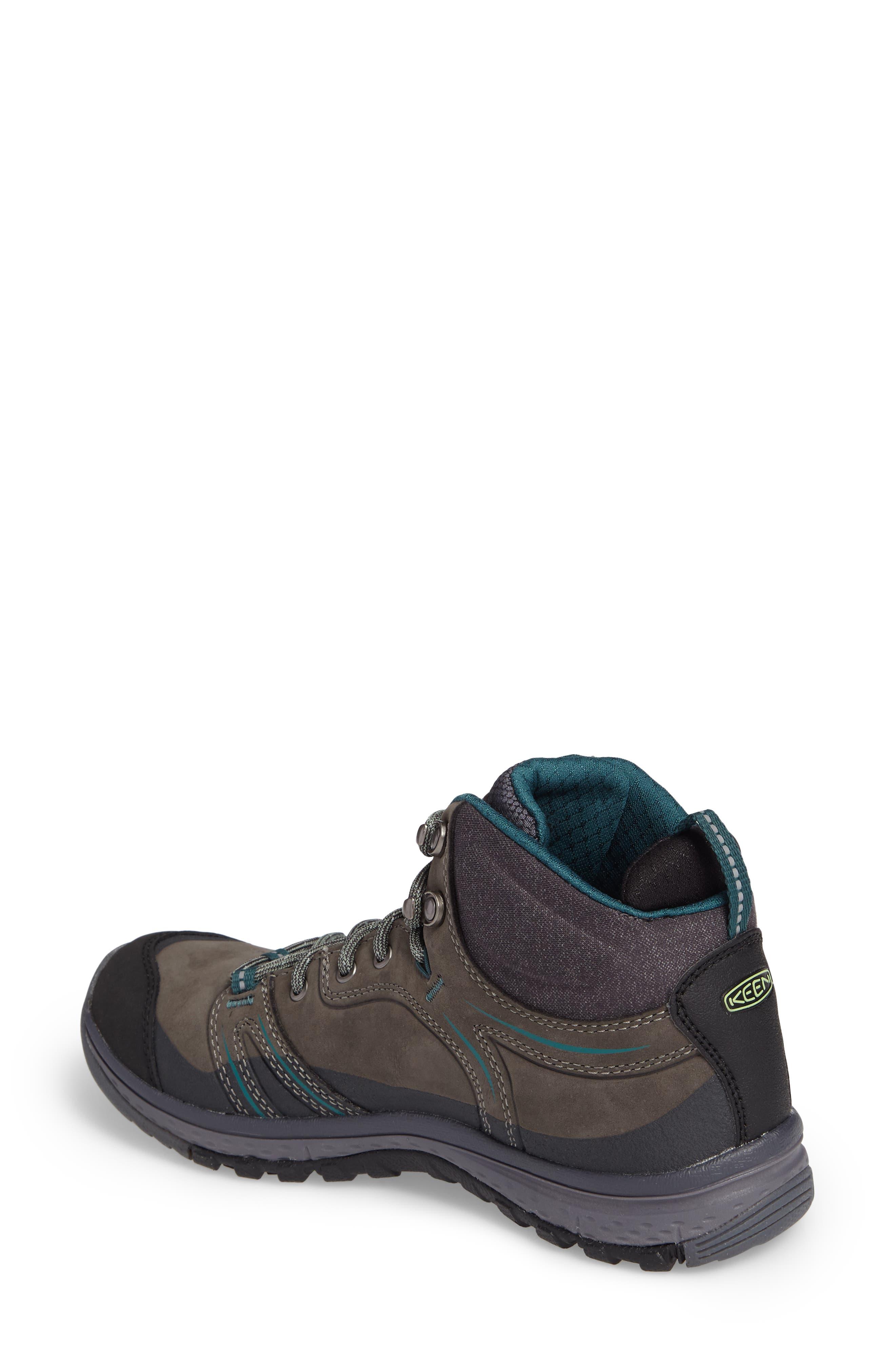 Terradora Leather Waterproof Hiking Boot,                             Alternate thumbnail 2, color,                             MUSHROOM NUBUCK LEATHER