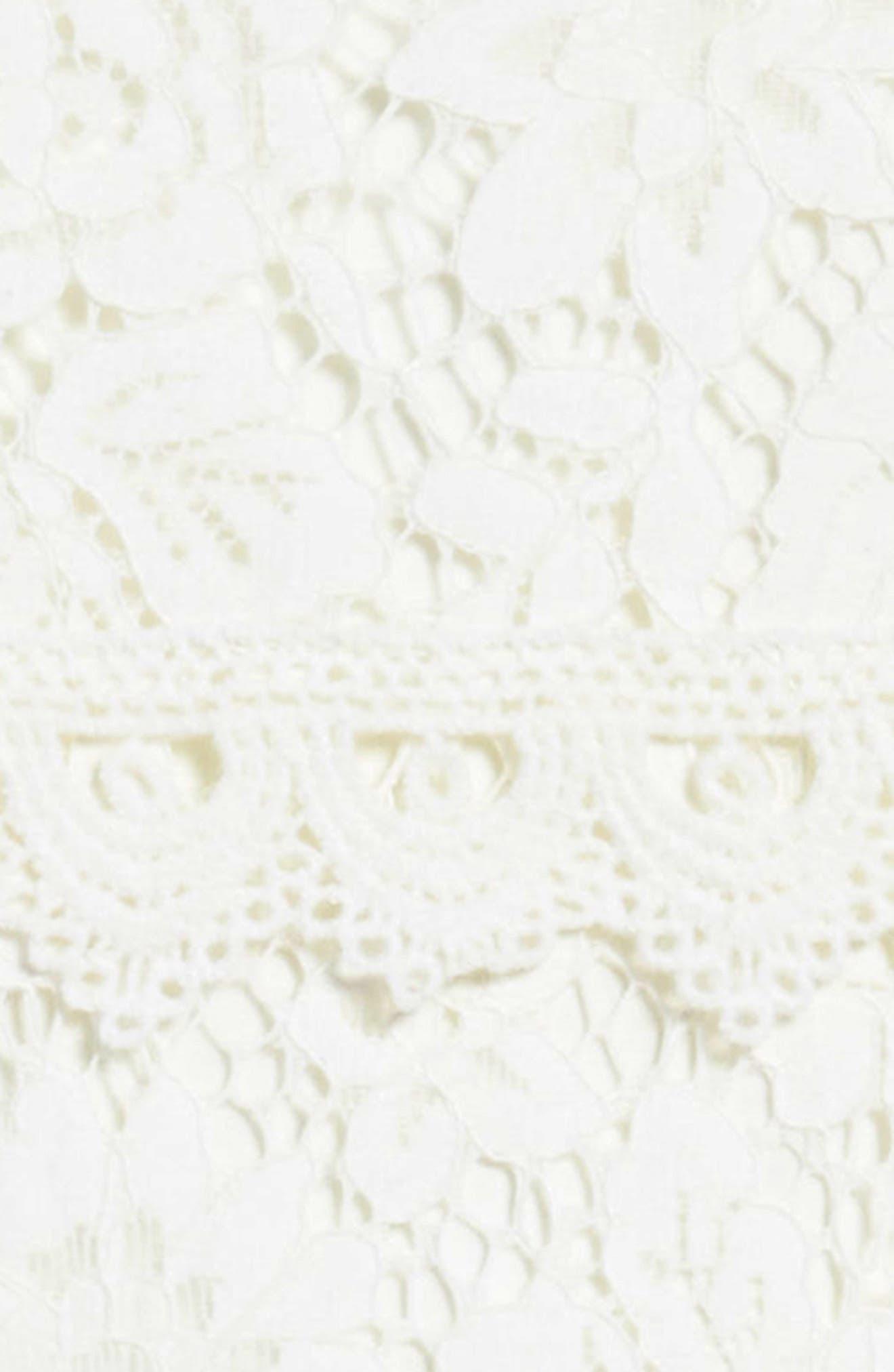Lace Shift Dress,                             Alternate thumbnail 3, color,                             902