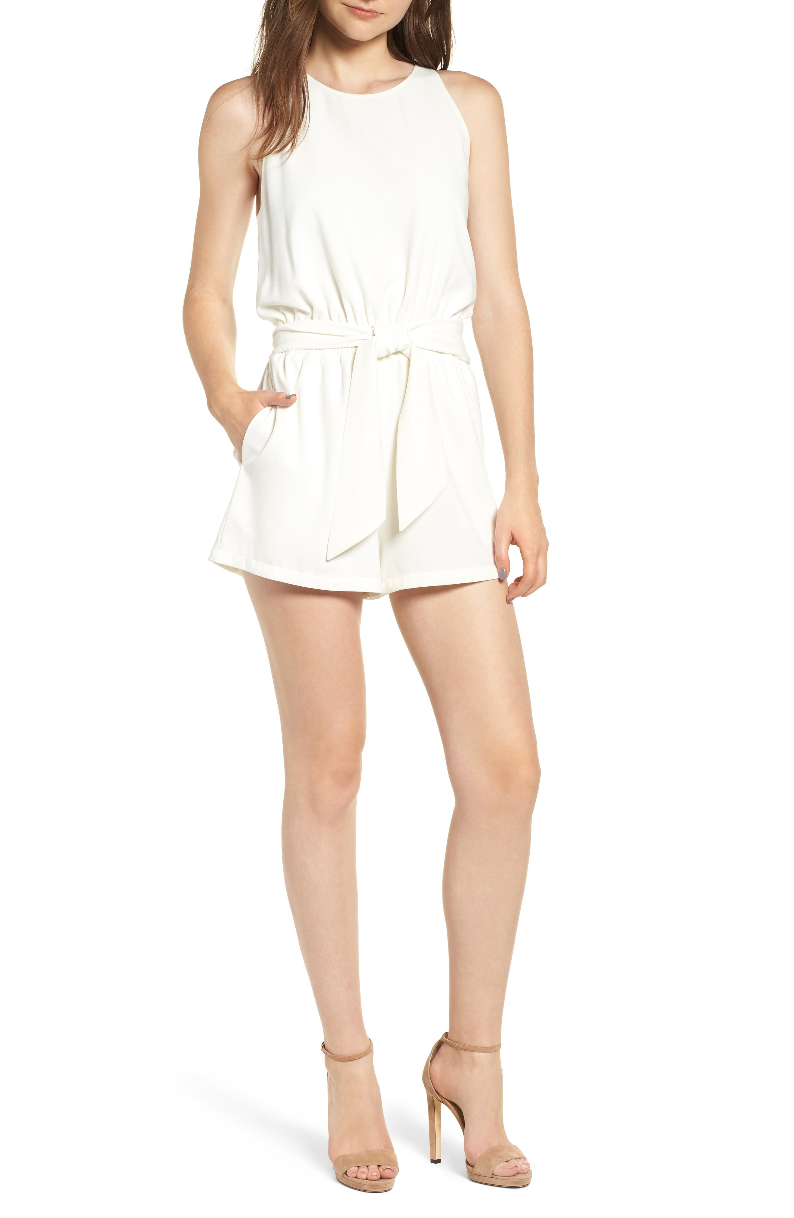 Bishop + Young Sunset Romper,                         Main,                         color, 100