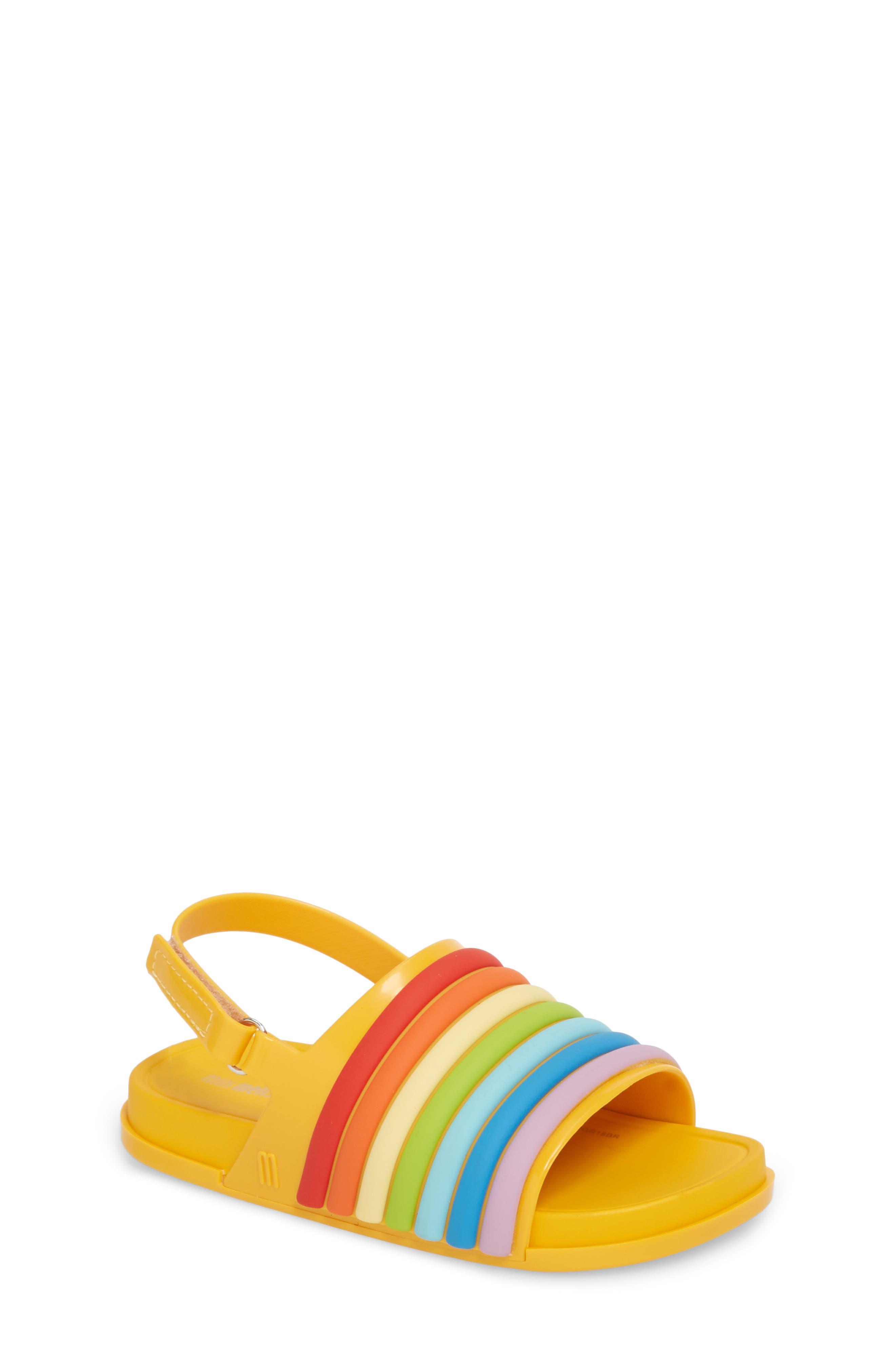 Rainbow Beach Sandal,                             Main thumbnail 4, color,