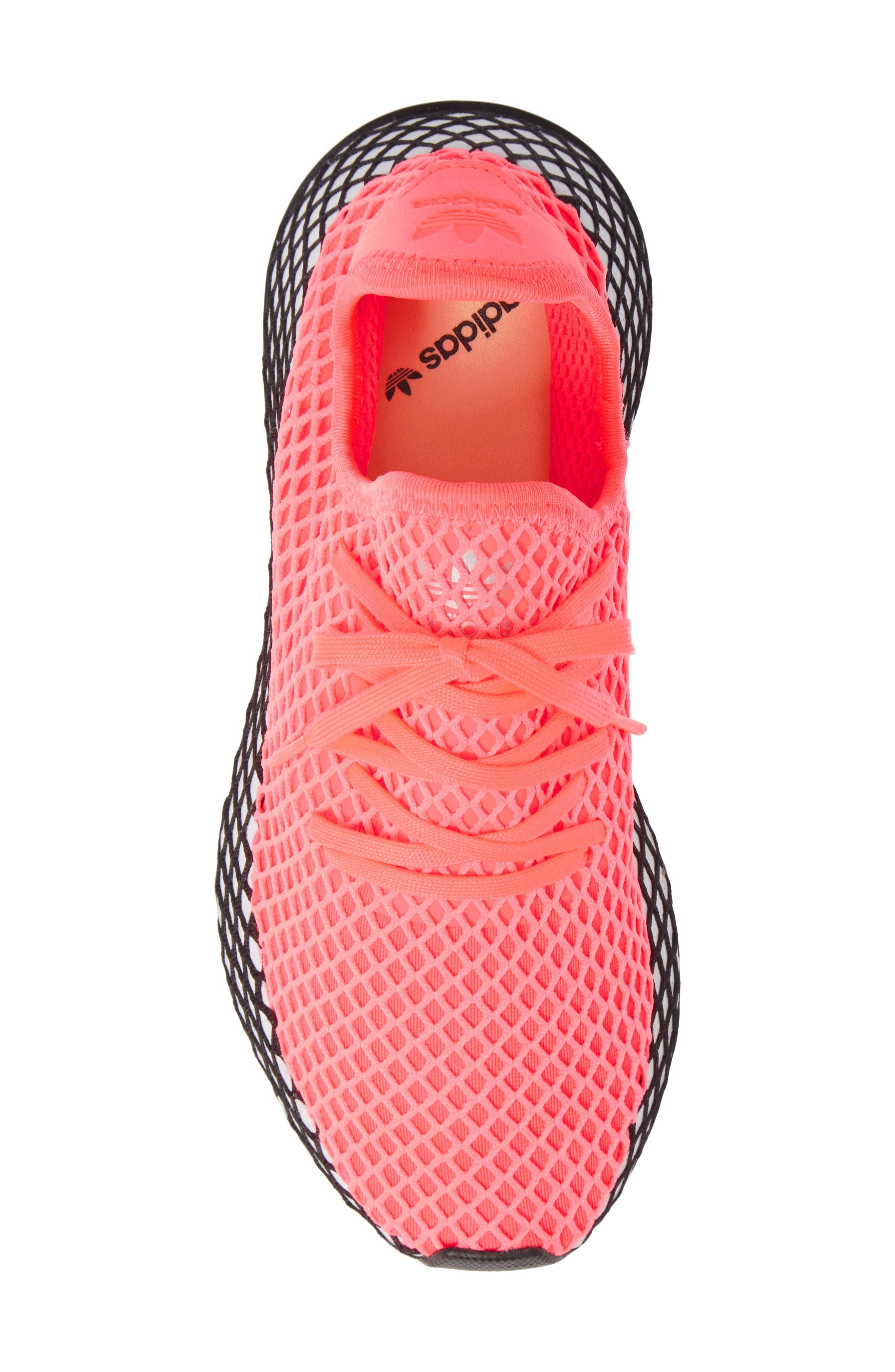 Deerupt Runner Sneaker,                             Alternate thumbnail 5, color,                             TURBO/ TURBO/ BLACK