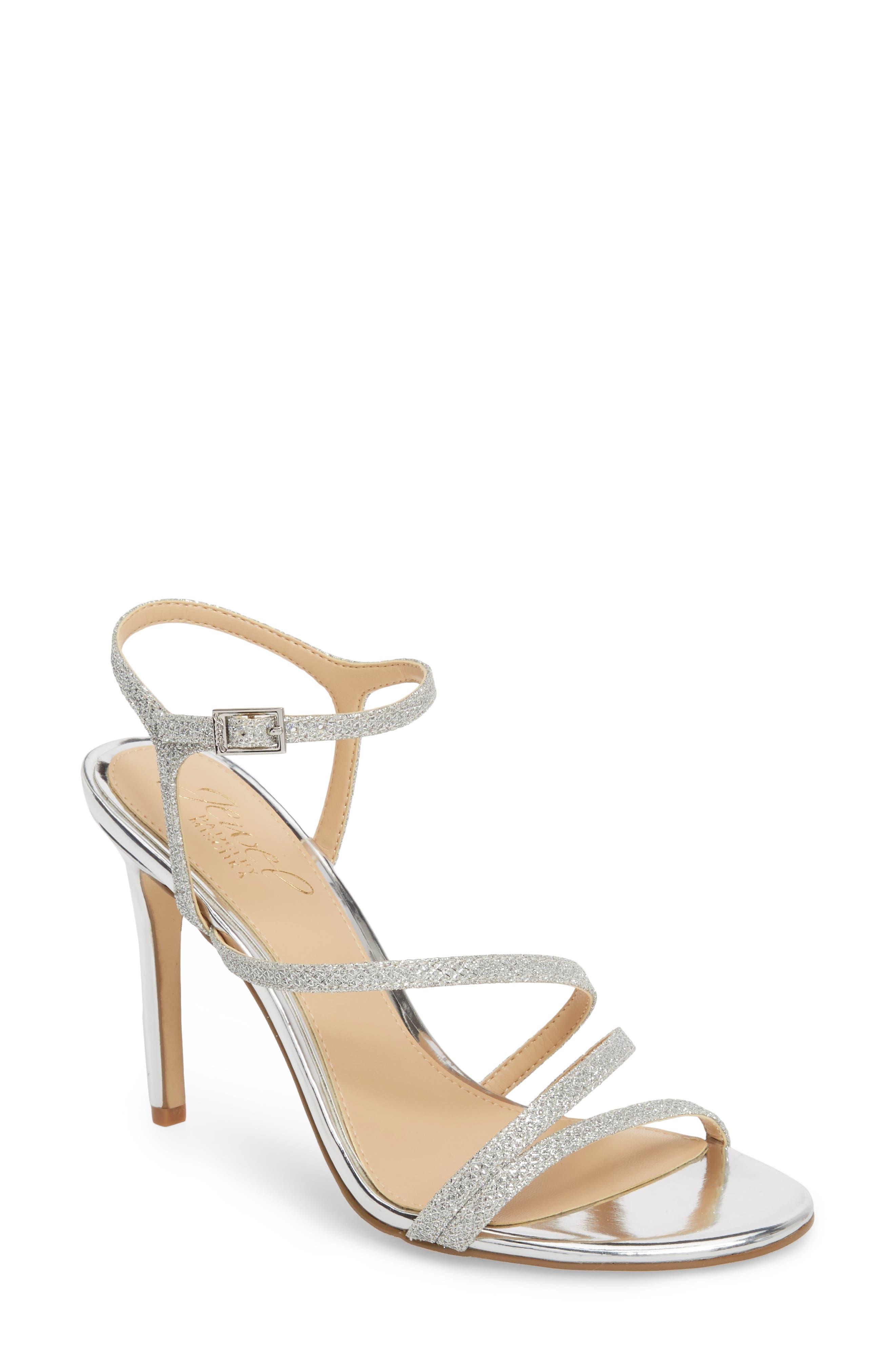 Jewel Badgley Mischka Maddison Sandal, Metallic
