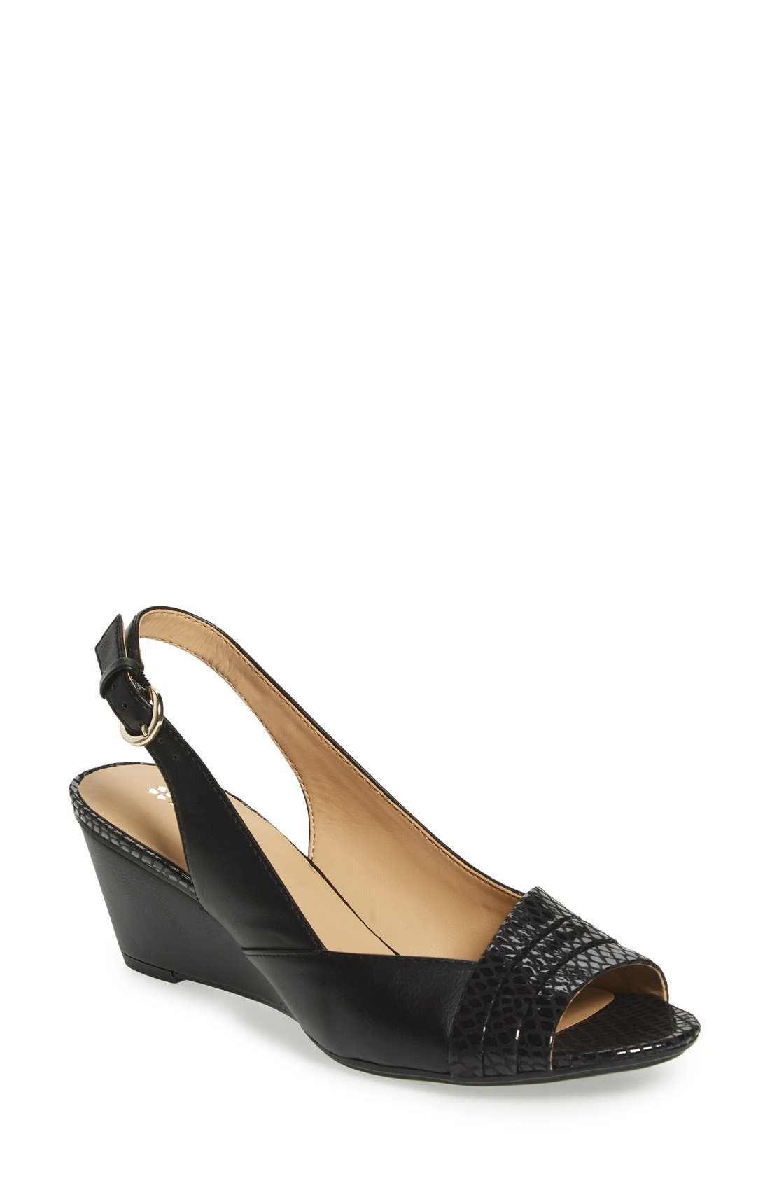 'Henny' Sandal, Main, color, 001