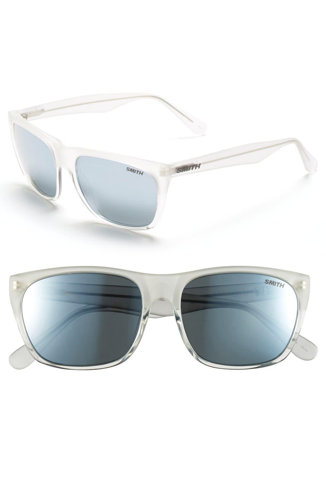 'Tioga' 57mm Polarized Sunglasses,                             Main thumbnail 1, color,                             100