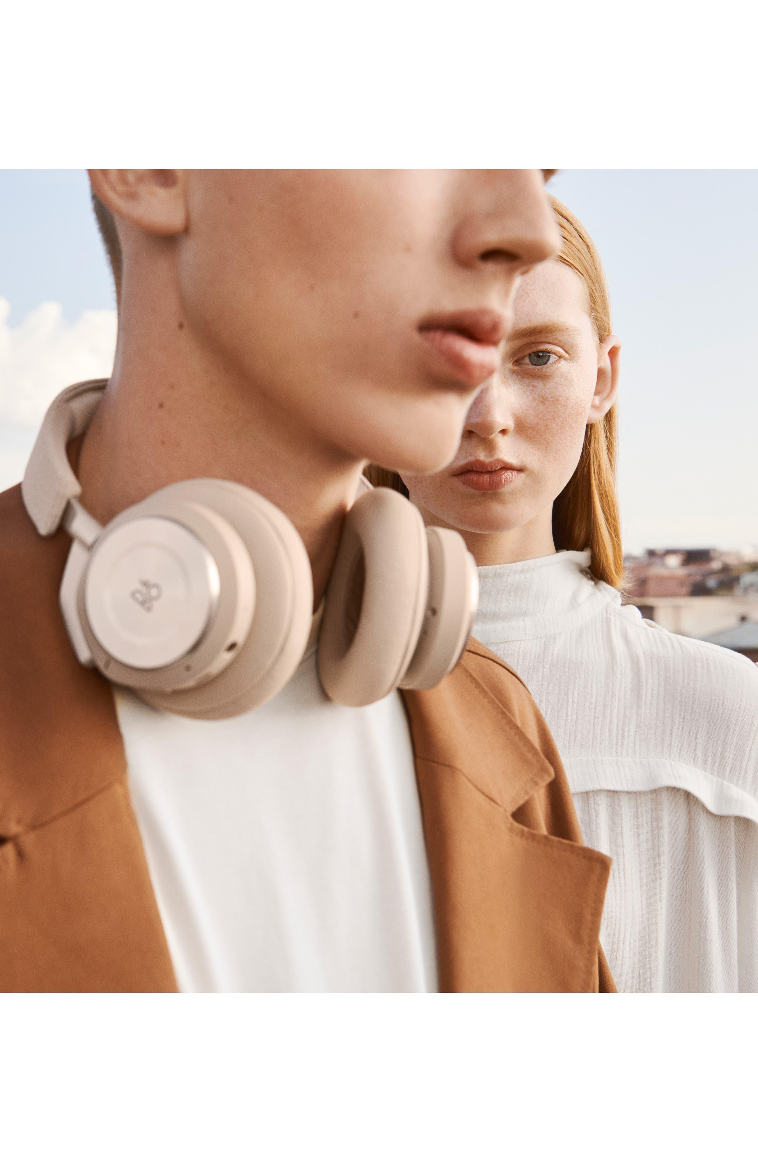 H9I Wireless Noise Canceling On-Ear Headphones,                             Alternate thumbnail 4, color,                             LIMESTONE