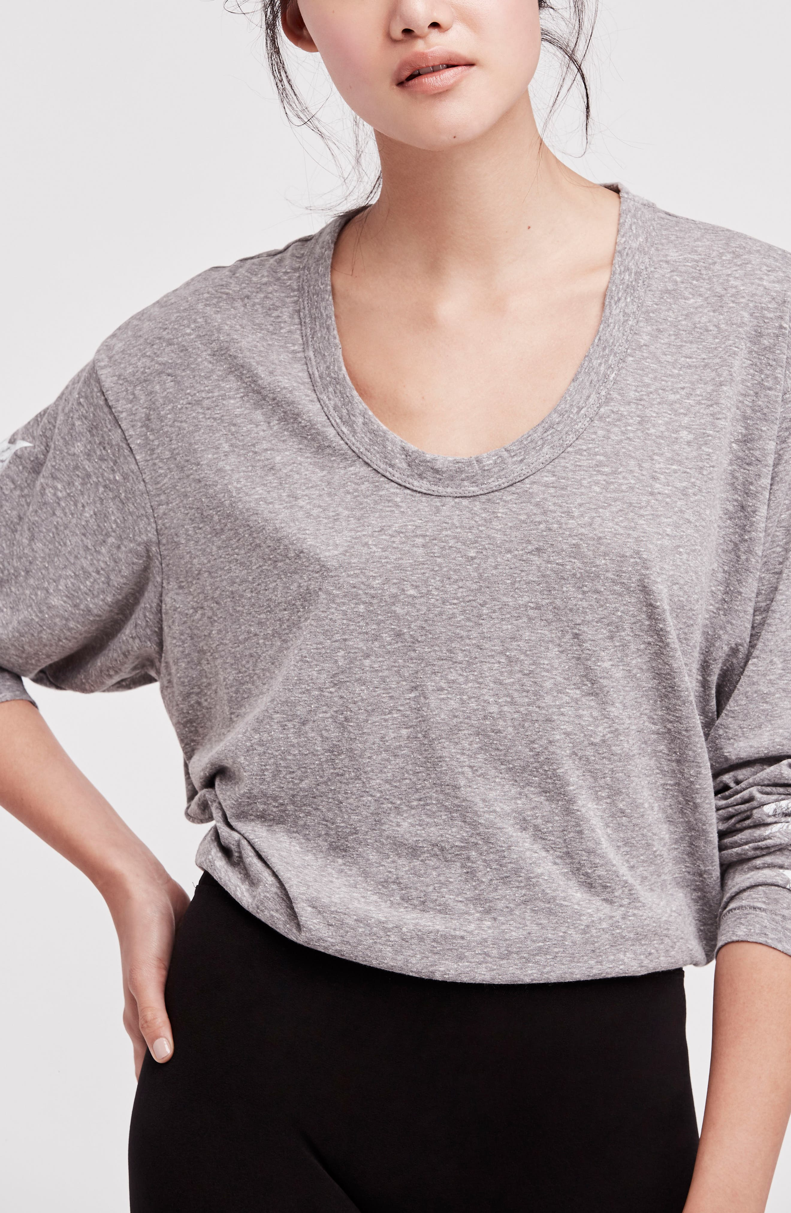 Free People Melrose Star Graphic Top,                             Alternate thumbnail 23, color,
