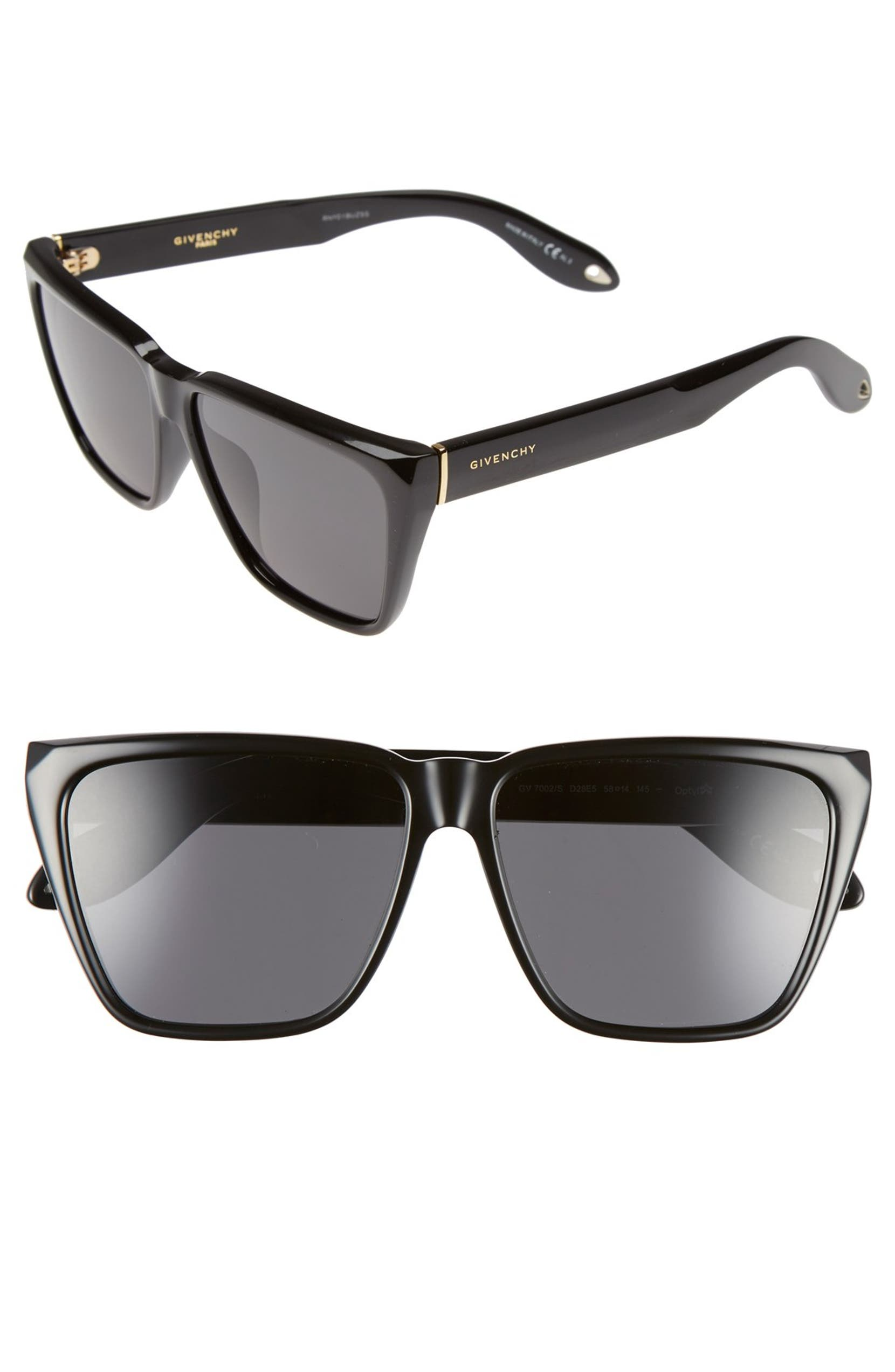 7155e21f513 Givenchy 58mm Flat Top Sunglasses