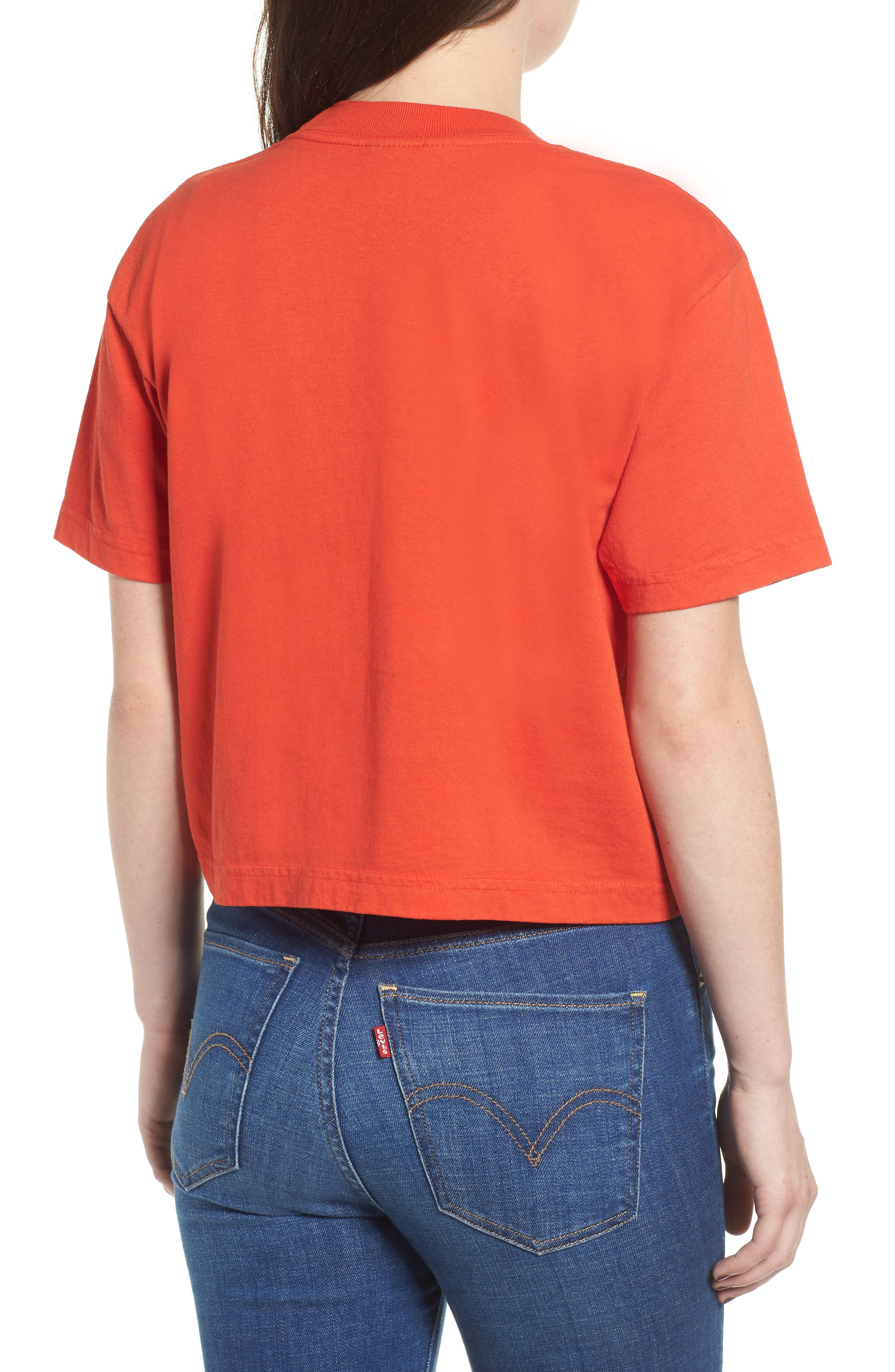 Int. Icon Crop Tee,                             Alternate thumbnail 2, color,                             800