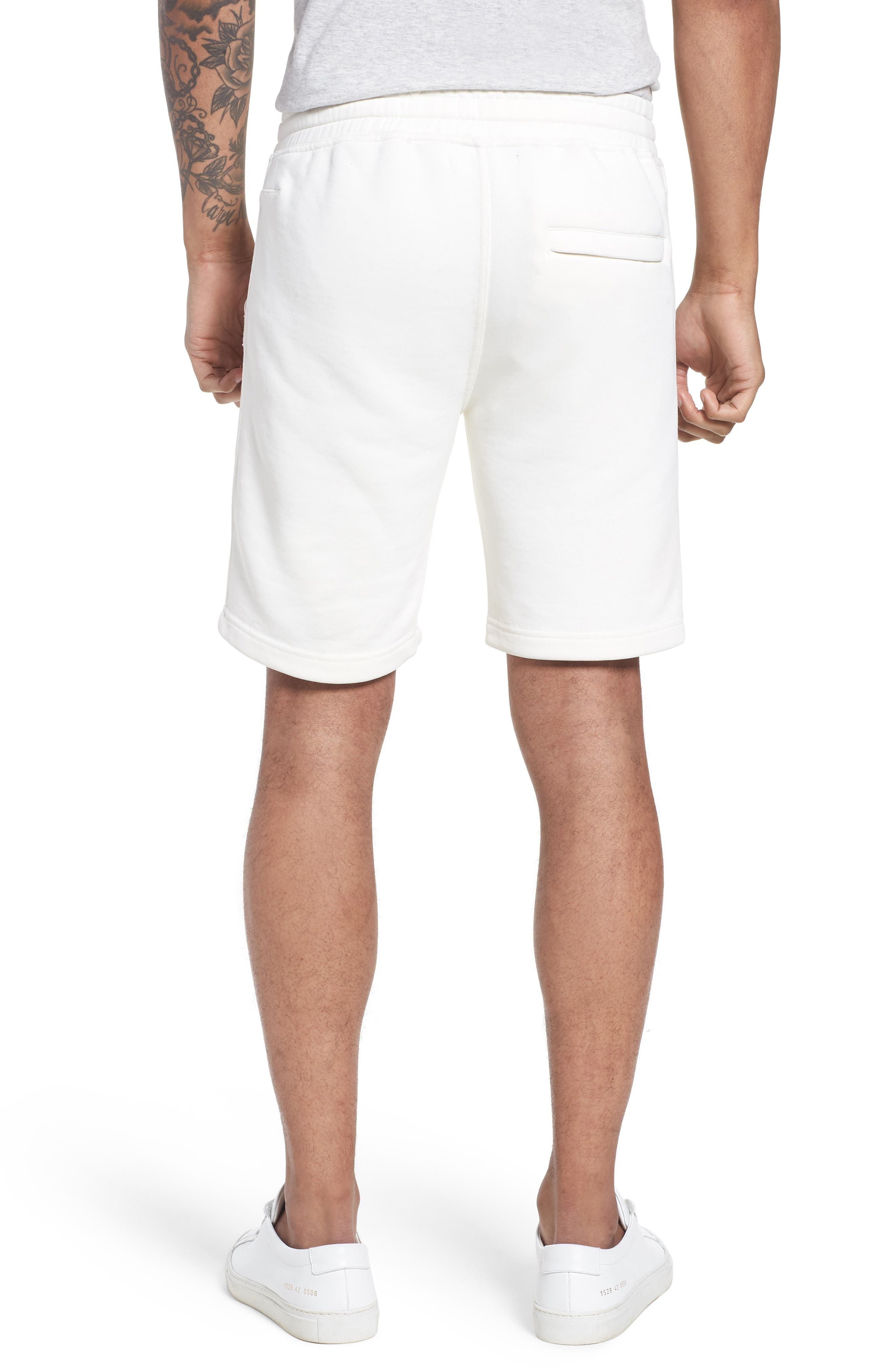 Lux French Terry Shorts,                             Alternate thumbnail 2, color,                             250
