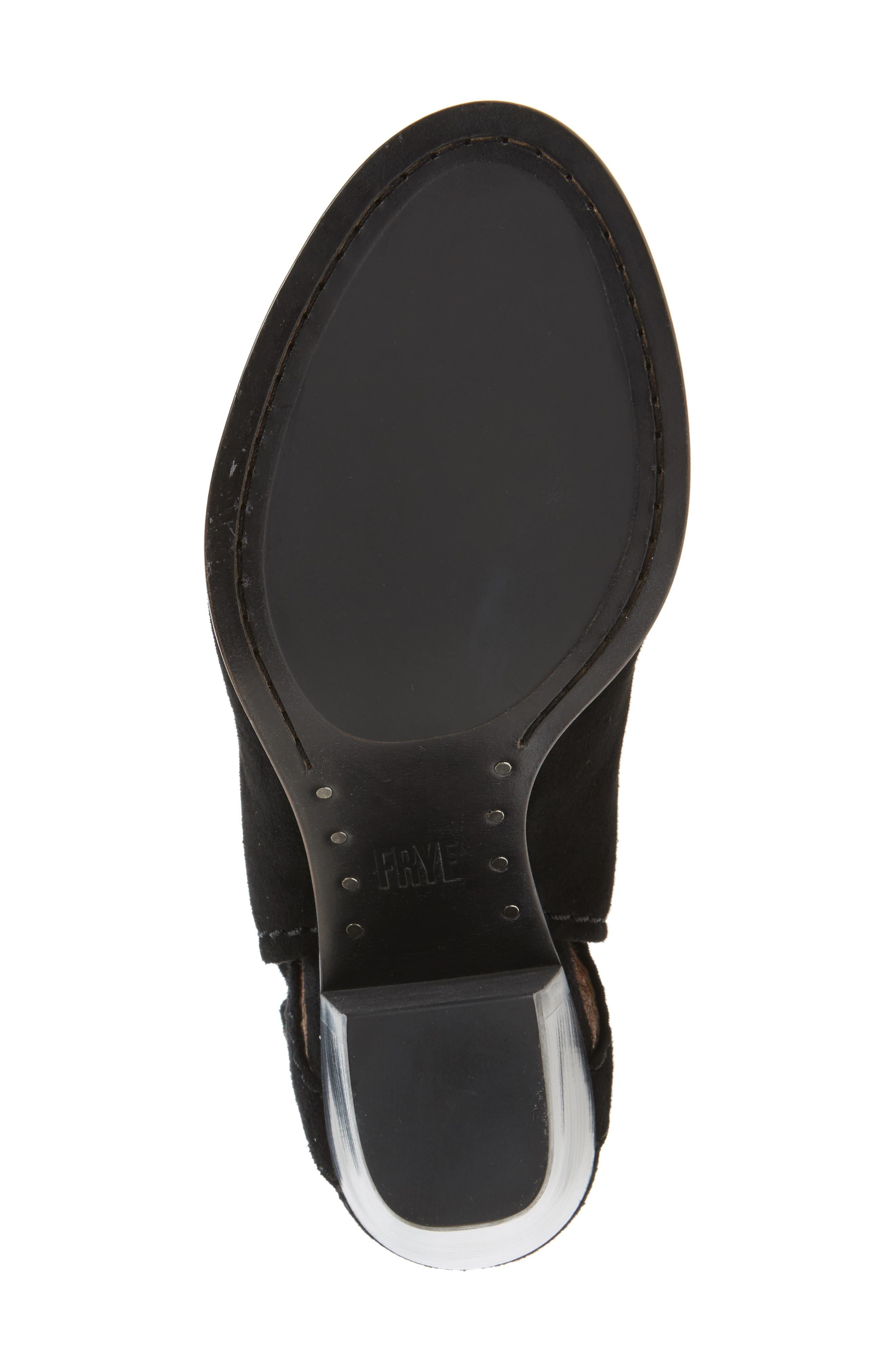 FRYE,                             'Dani Shield' Sandal,                             Alternate thumbnail 4, color,                             001