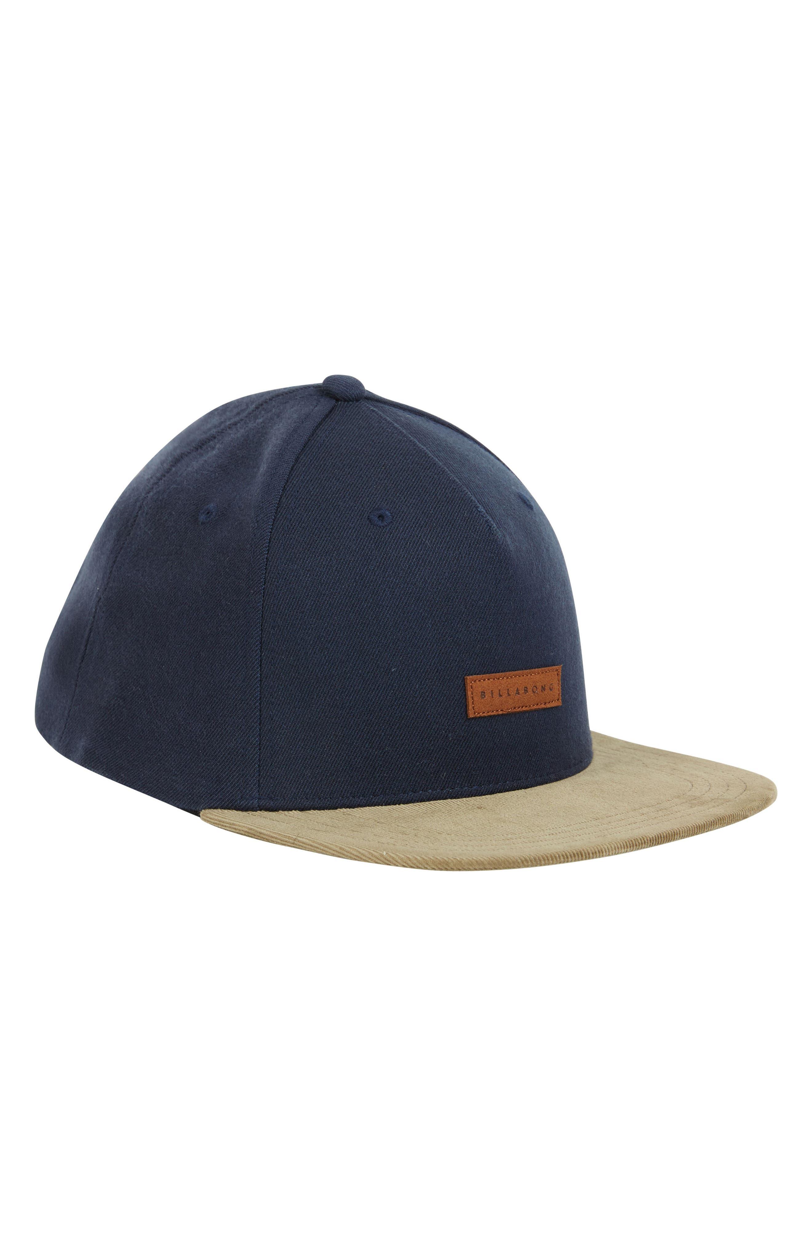 Oxford Snapback Baseball Cap,                             Alternate thumbnail 4, color,                             NAVY