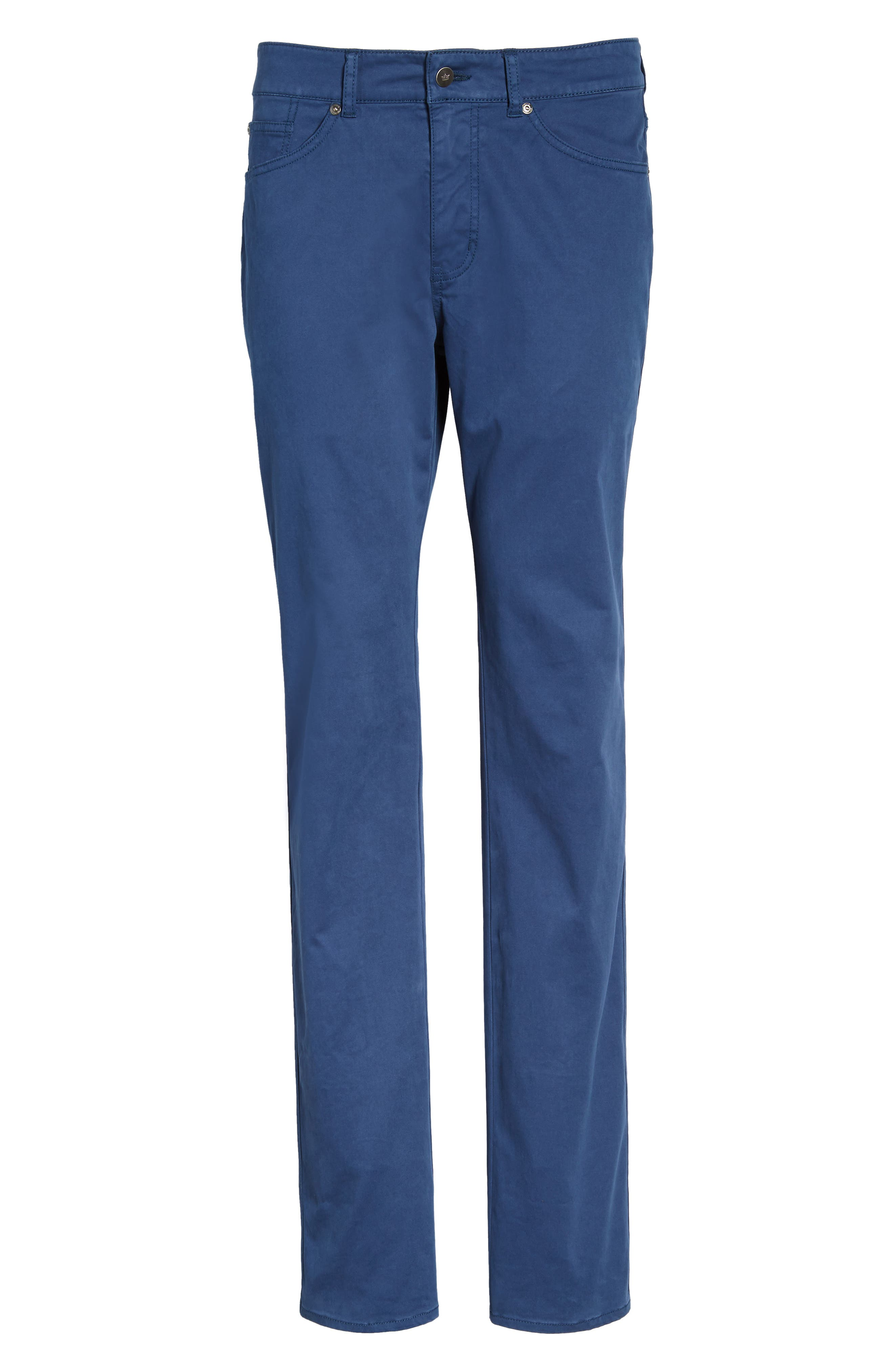Stretch Sateen Five-Pocket Pants,                             Alternate thumbnail 24, color,