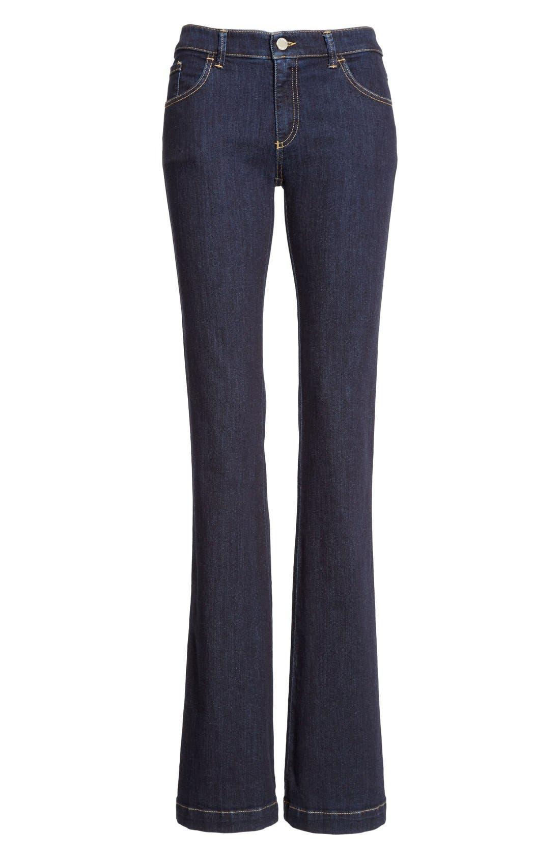 Armani Jeans Bootcut Jeans,                             Alternate thumbnail 3, color,                             400