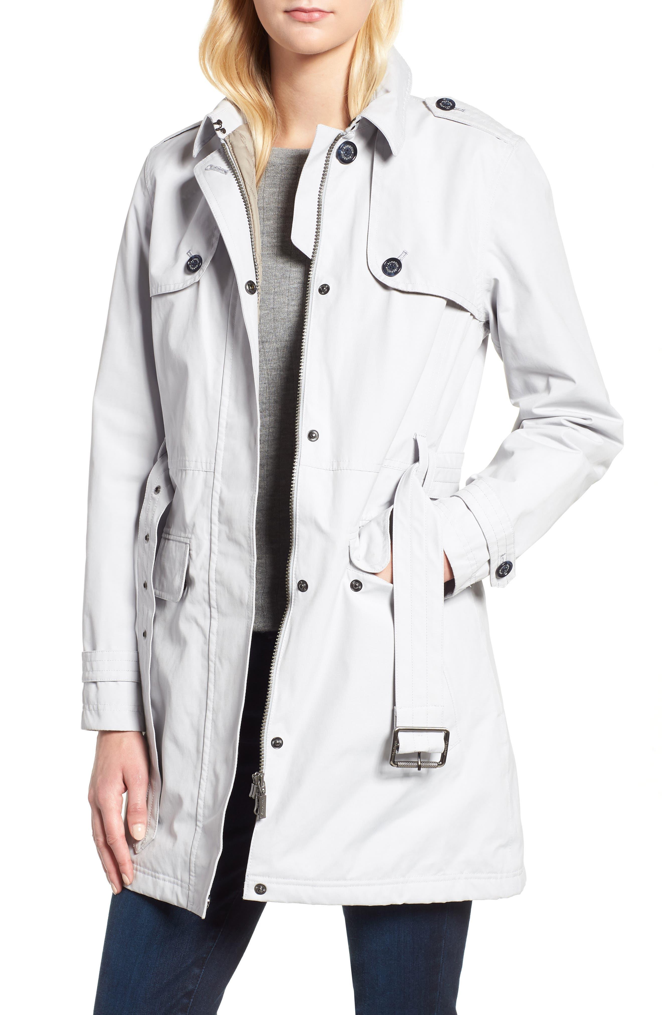 Barbour Tobermory Waterproof Belted Jacket
