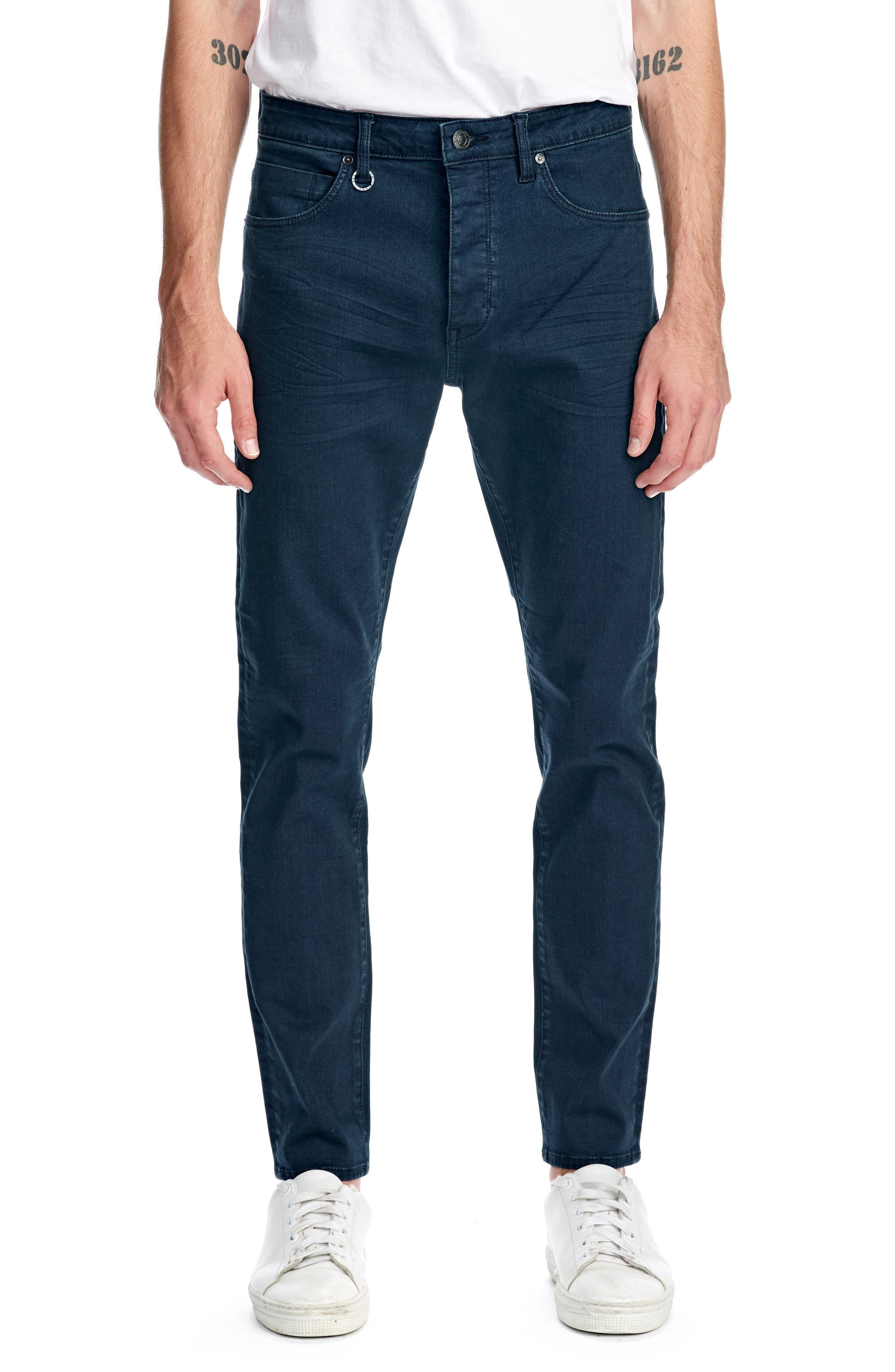 Ray Slim Fit Jeans,                             Main thumbnail 1, color,                             NORDIC BLUE