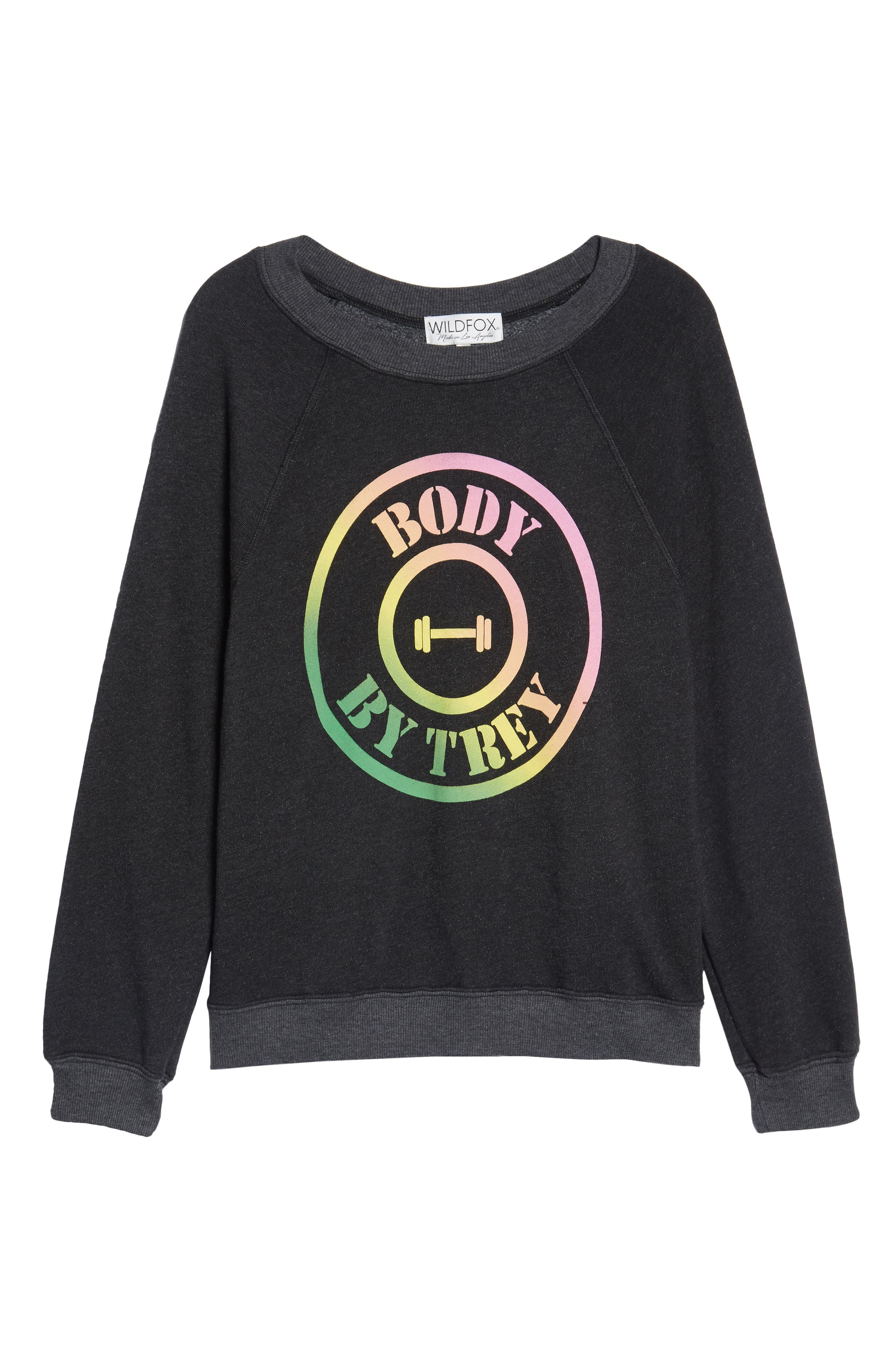 Body by Trey - Sommers Sweatshirt,                             Alternate thumbnail 6, color,