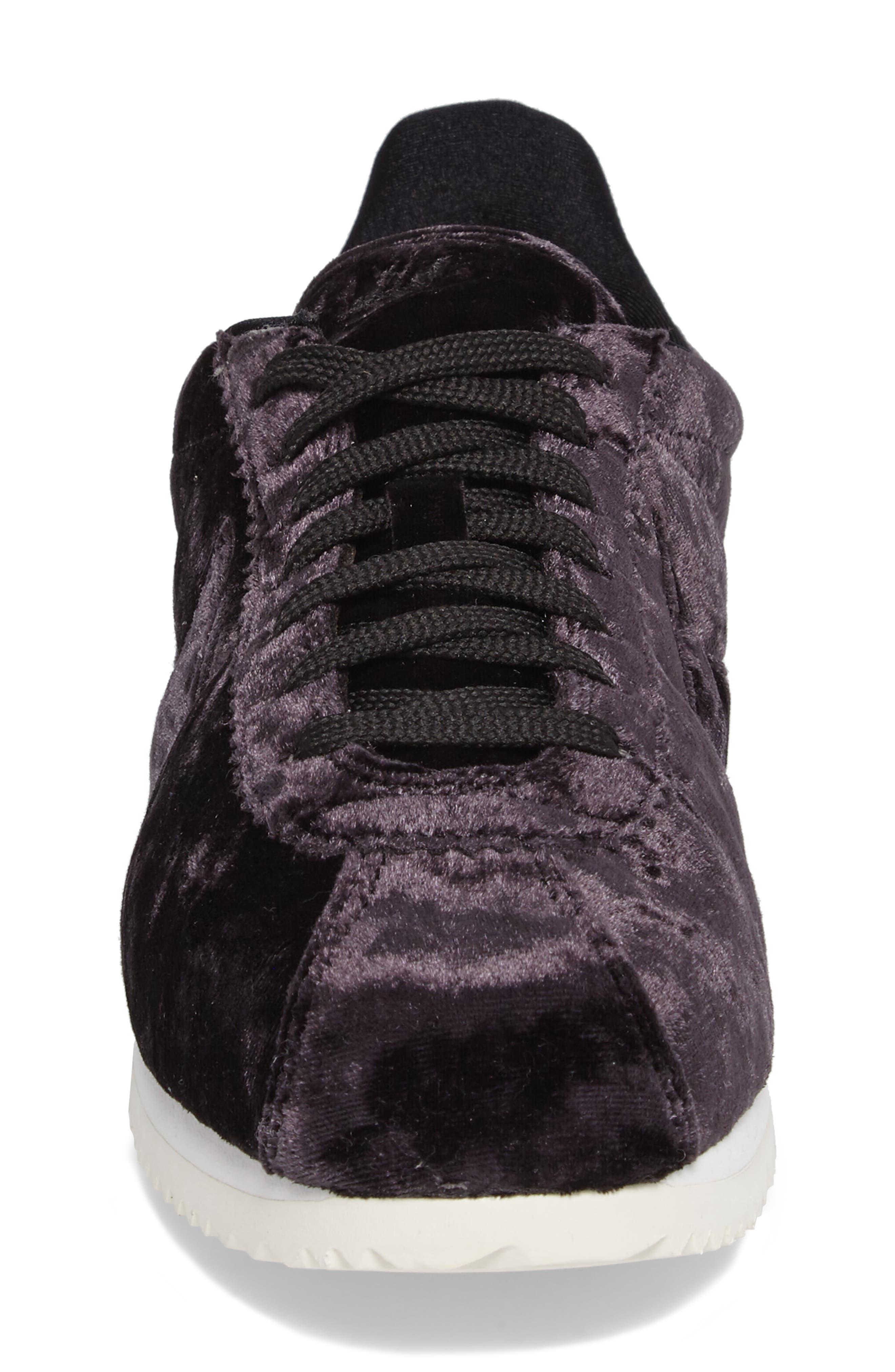 Cortez Classic LX Sneaker,                             Alternate thumbnail 4, color,                             001