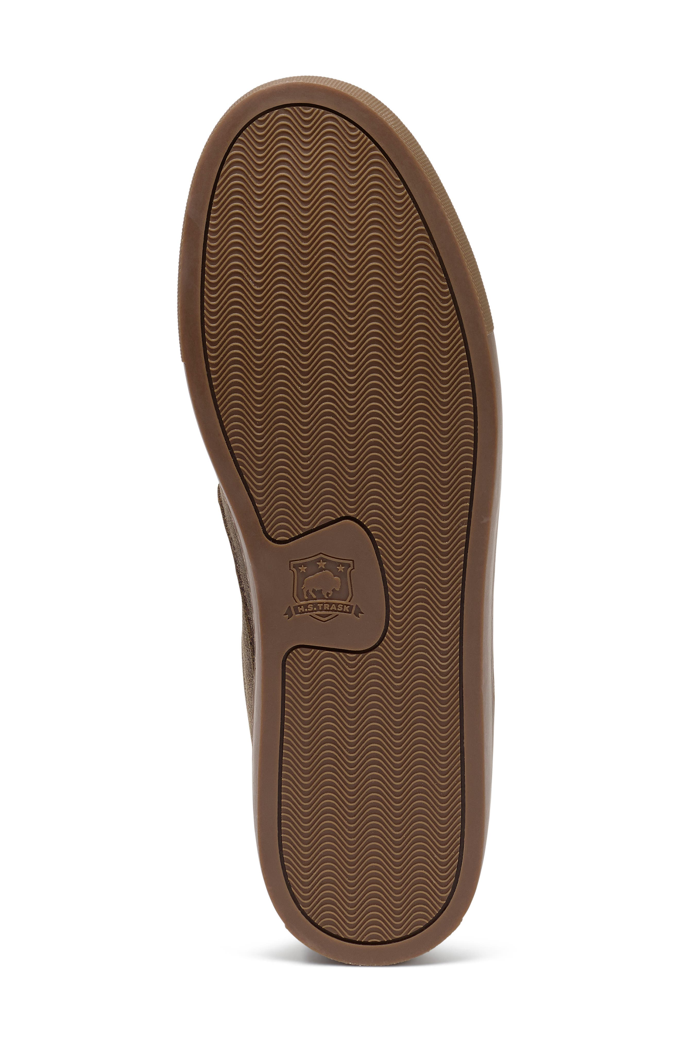 Alex Genuine Shearling Slip-On Sneaker,                             Alternate thumbnail 6, color,                             BROWN SUEDE