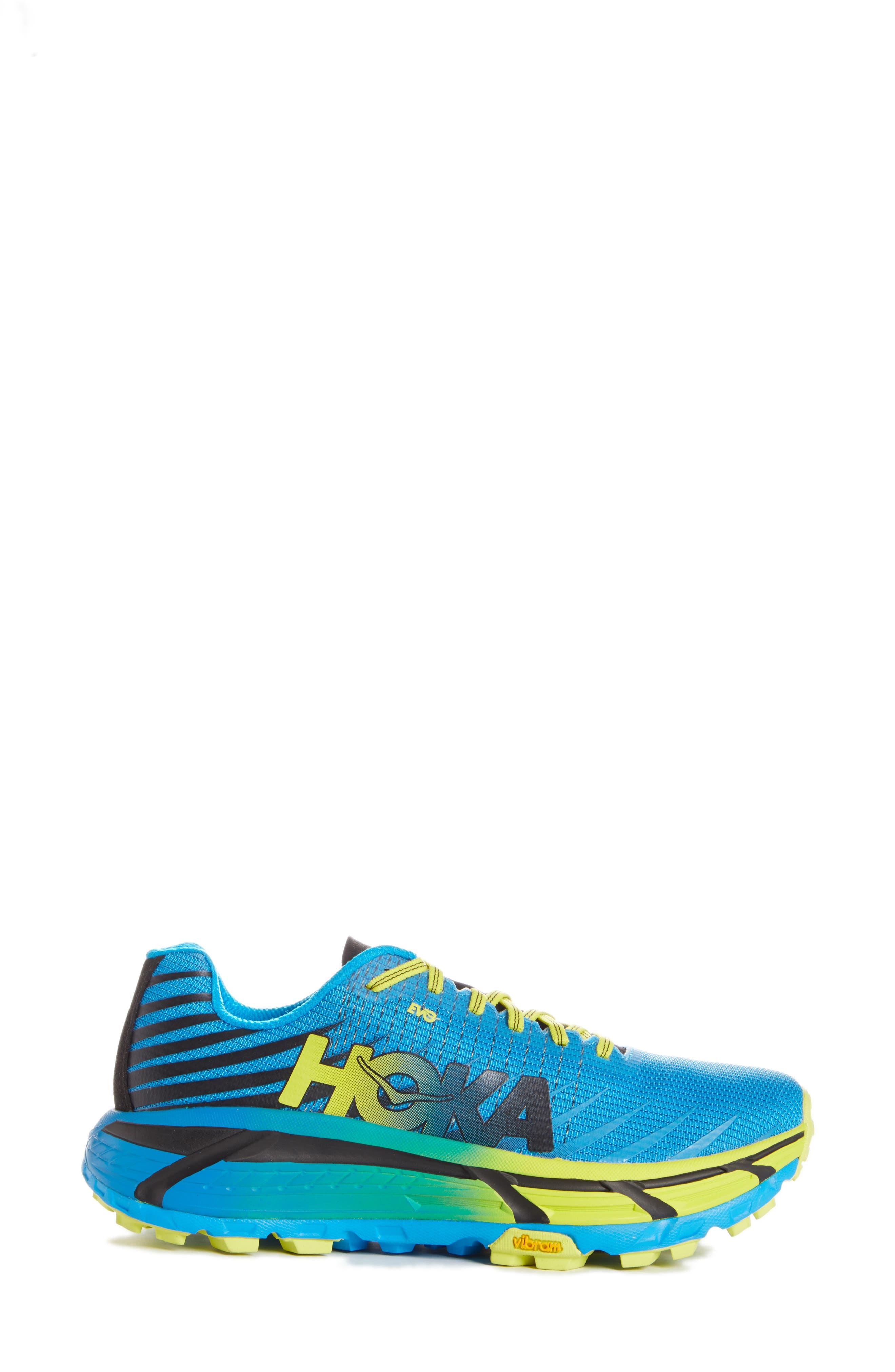 Hoka One One Evo Mafate Trail Running Shoe - Blue
