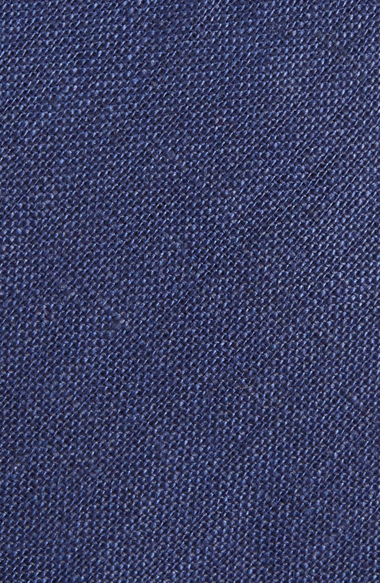 Solid Linen Tie,                             Alternate thumbnail 2, color,                             400