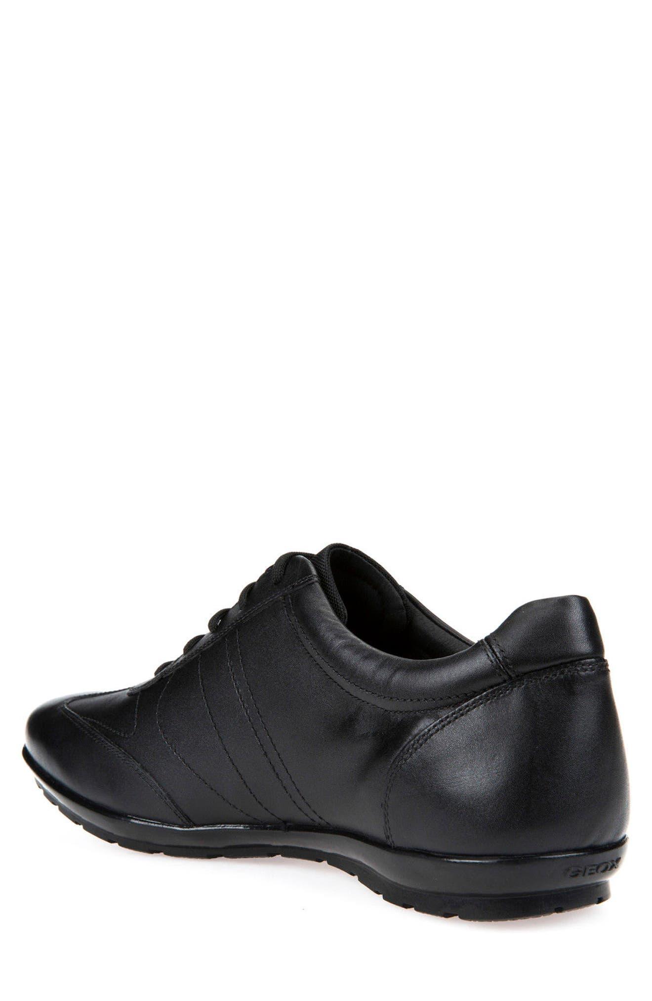 Symbol 19 Euro Sneaker,                             Alternate thumbnail 2, color,                             BLACK