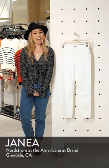 Verdugo Faux Pocket Crop Skinny Jeans, sales video thumbnail