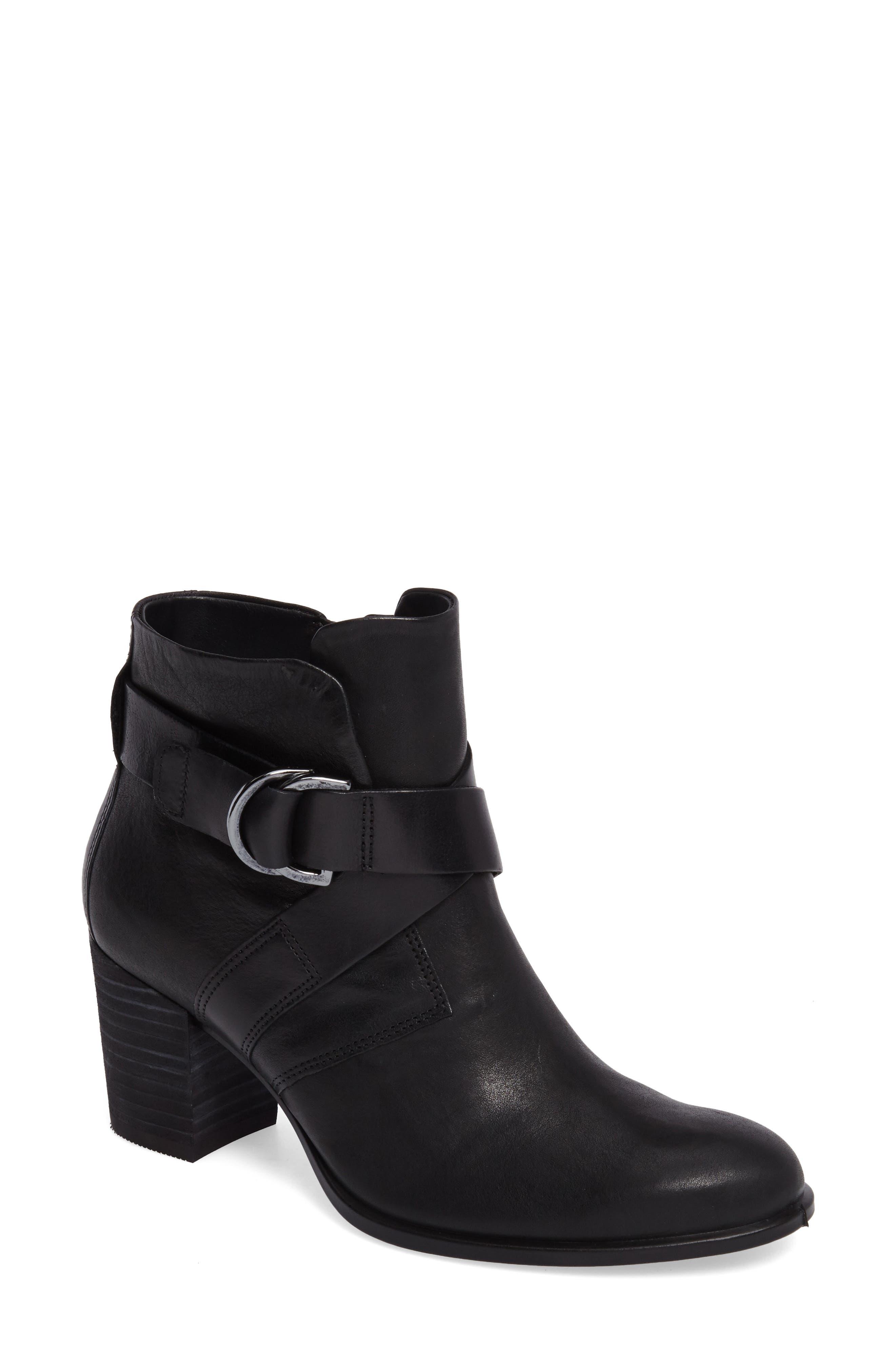 Shape 55 Block Heel Bootie,                         Main,                         color, 001