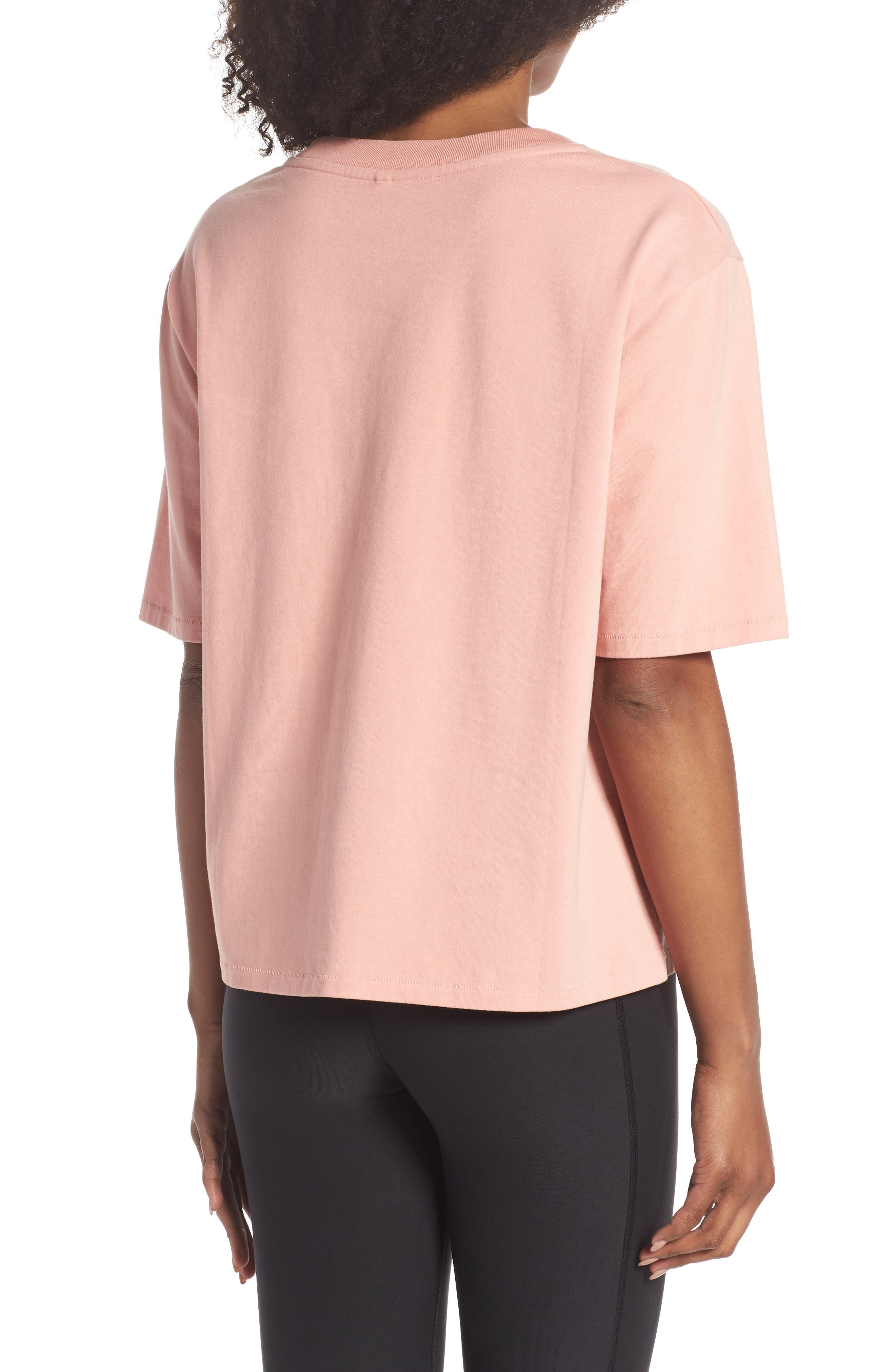 Active Duty Tee,                             Alternate thumbnail 2, color,                             PASTEL PINK