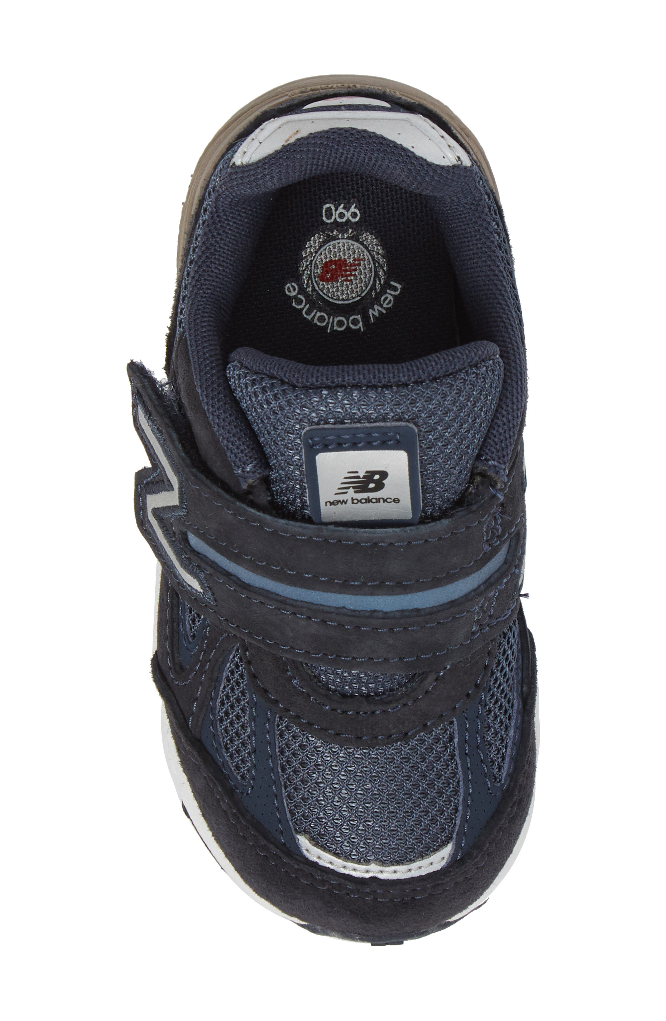 990v4 Sneaker,                             Alternate thumbnail 5, color,                             410