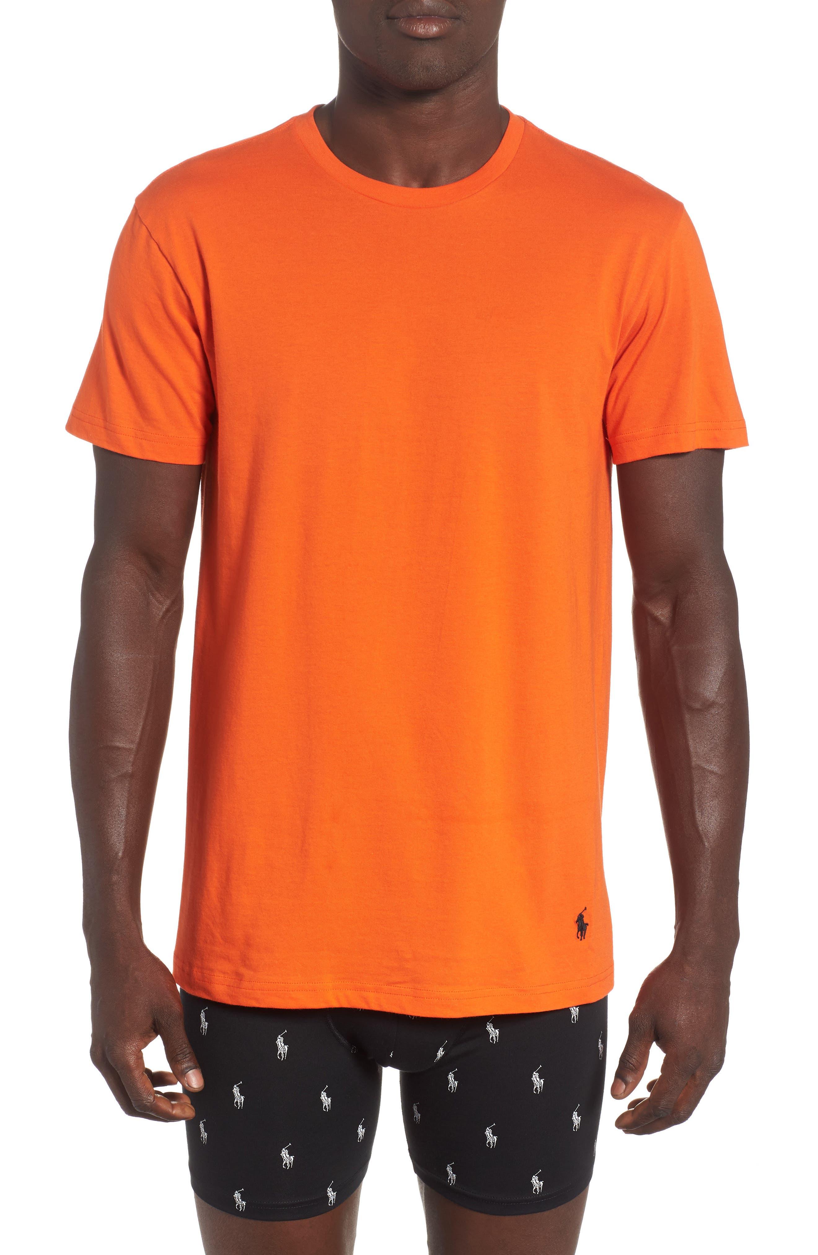 3-Pack Classic Fit T-Shirts,                             Alternate thumbnail 2, color,                             ORANGE/ GREEN/ ROYAL