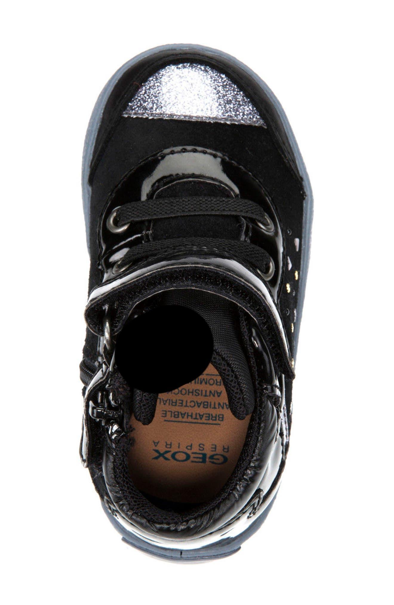 Kiwi Girl Studded High Top Sneaker,                             Alternate thumbnail 13, color,