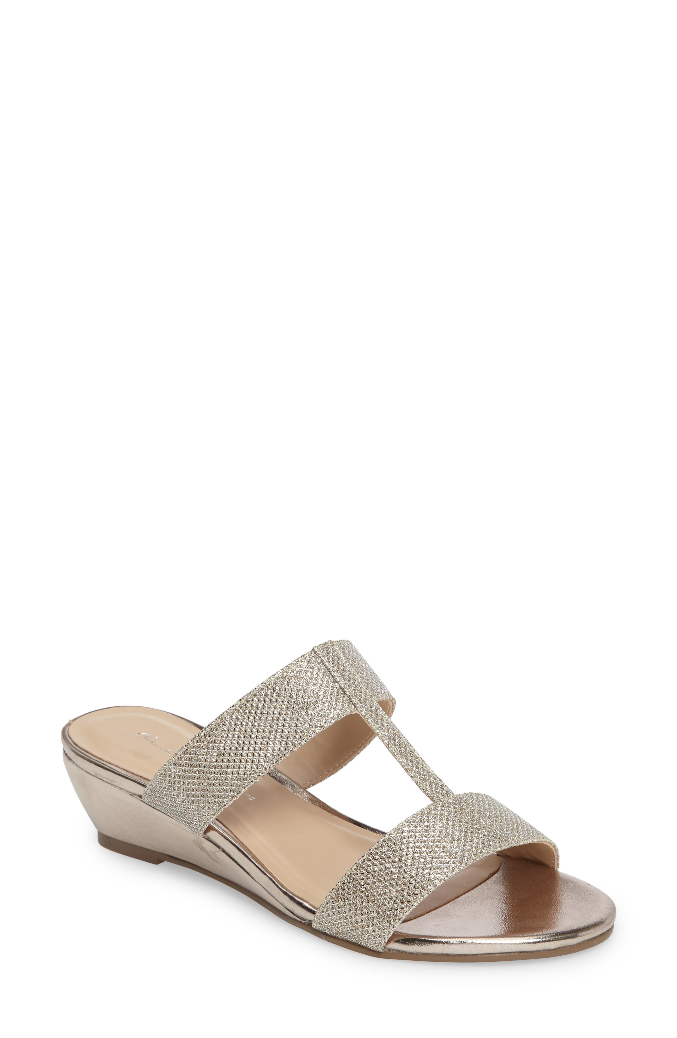 Melina Wedge Slide Sandal,                             Main thumbnail 2, color,