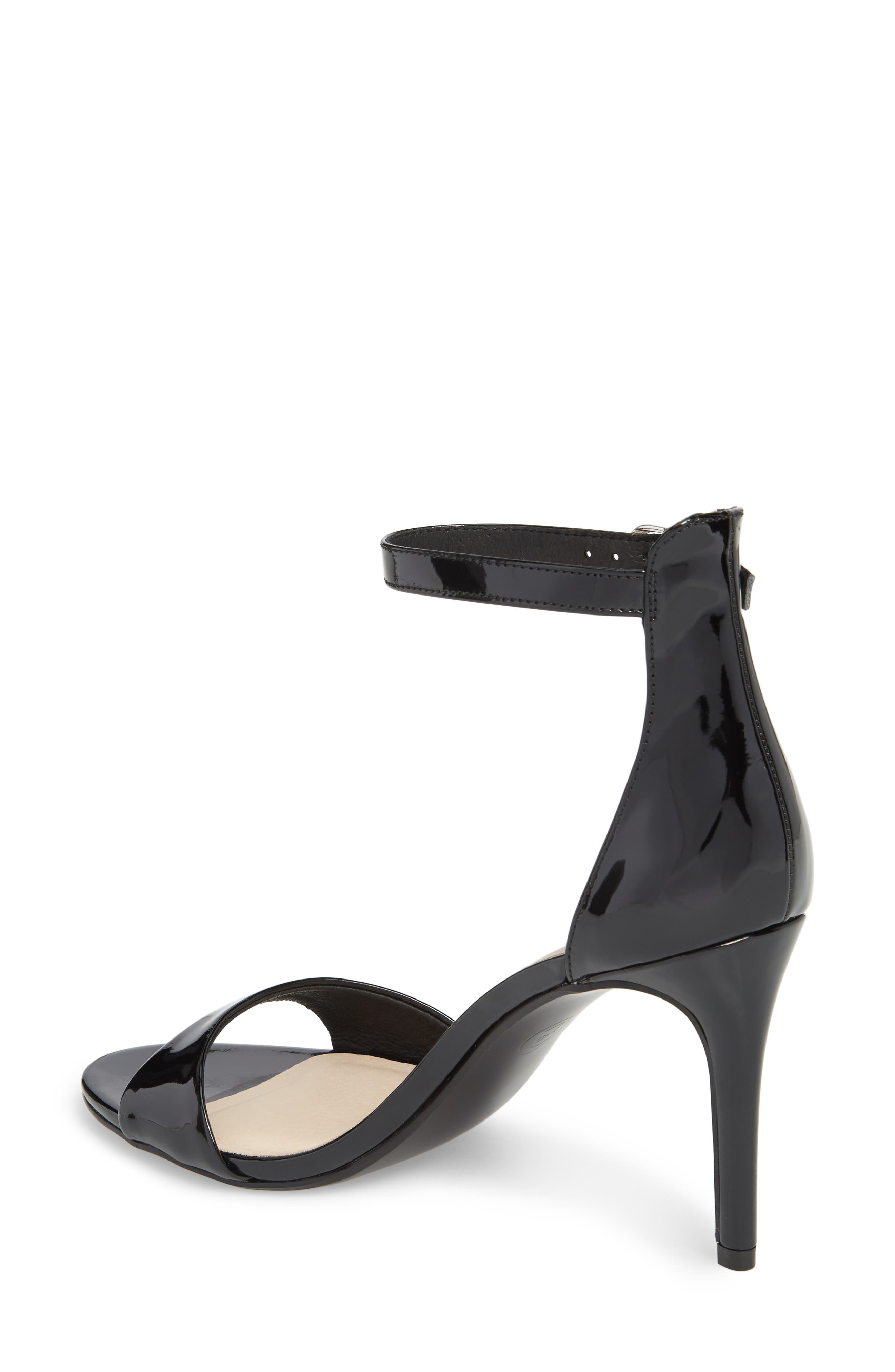 Simone Ankle Strap Sandal,                             Alternate thumbnail 2, color,                             001