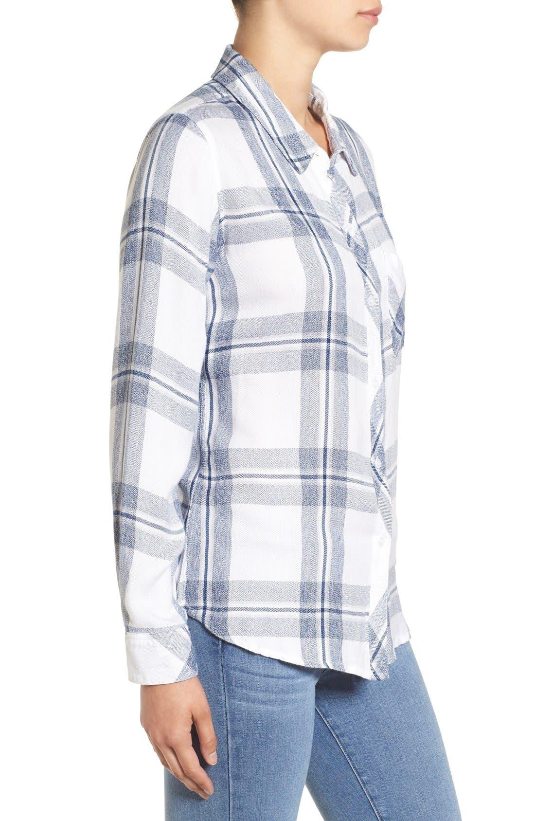 Hunter Plaid Shirt,                             Alternate thumbnail 520, color,