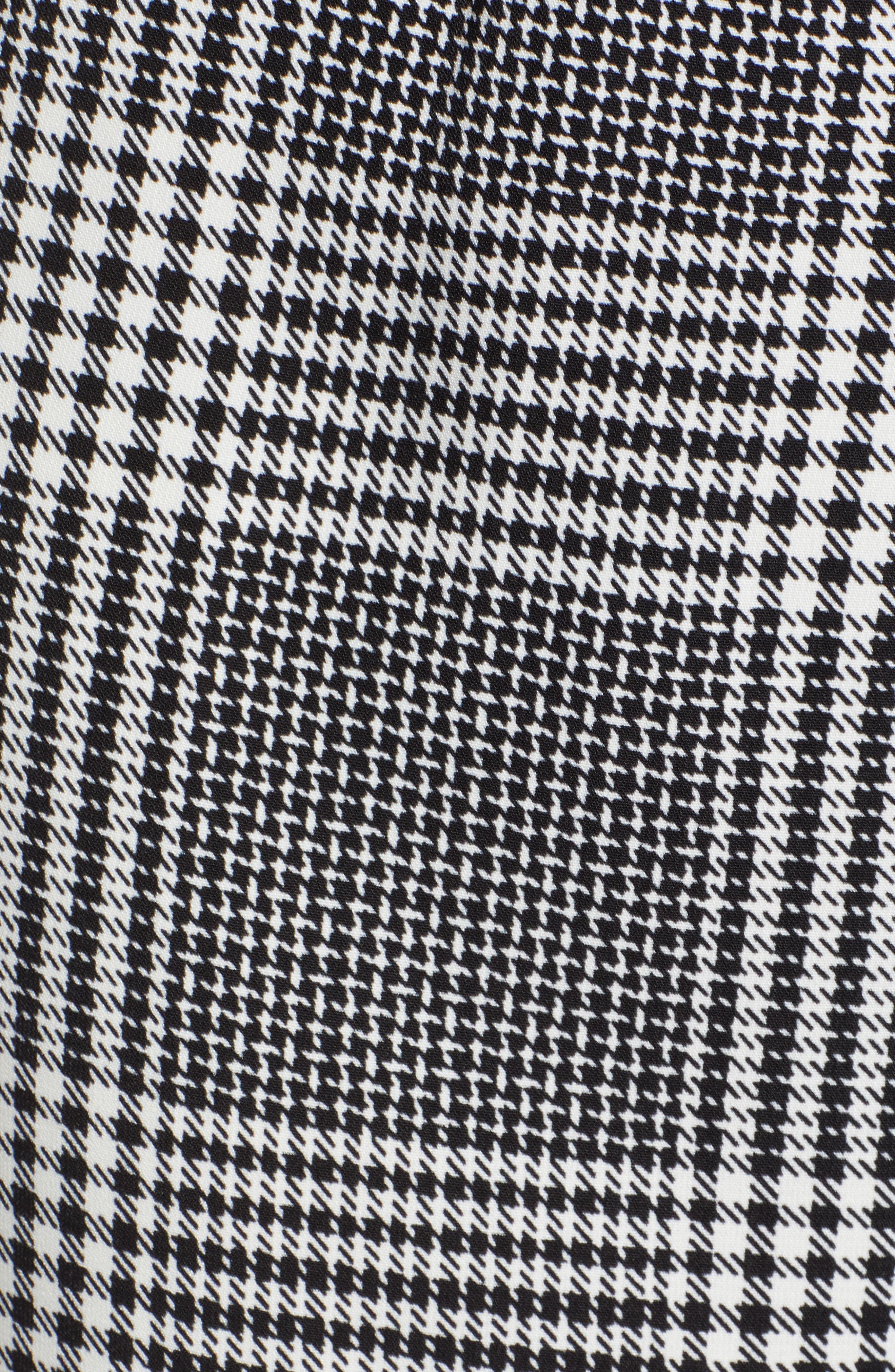 Tie Front Jumpsuit,                             Alternate thumbnail 6, color,                             001