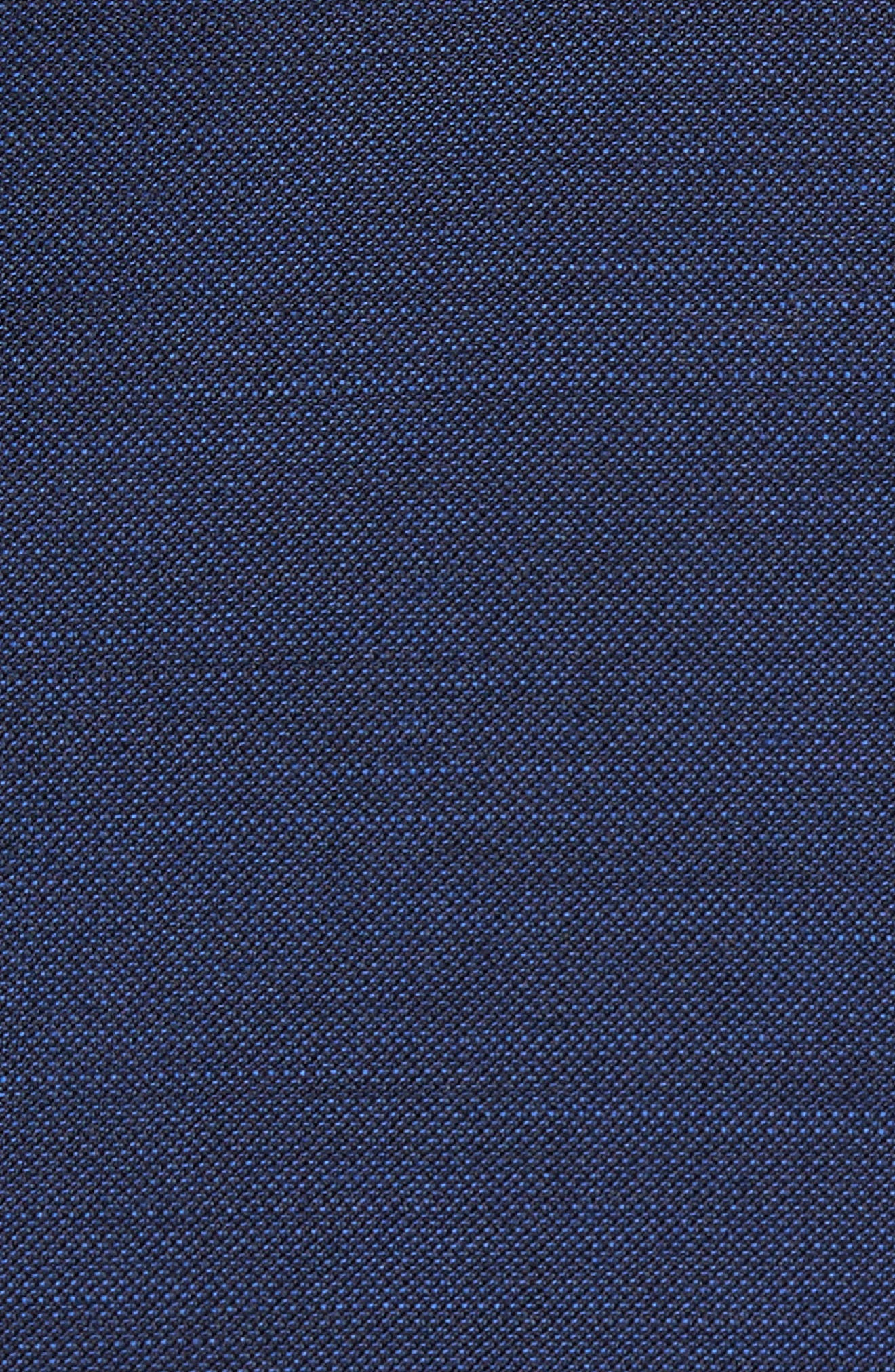 Classic Fit Solid Wool Suit,                             Alternate thumbnail 7, color,                             401
