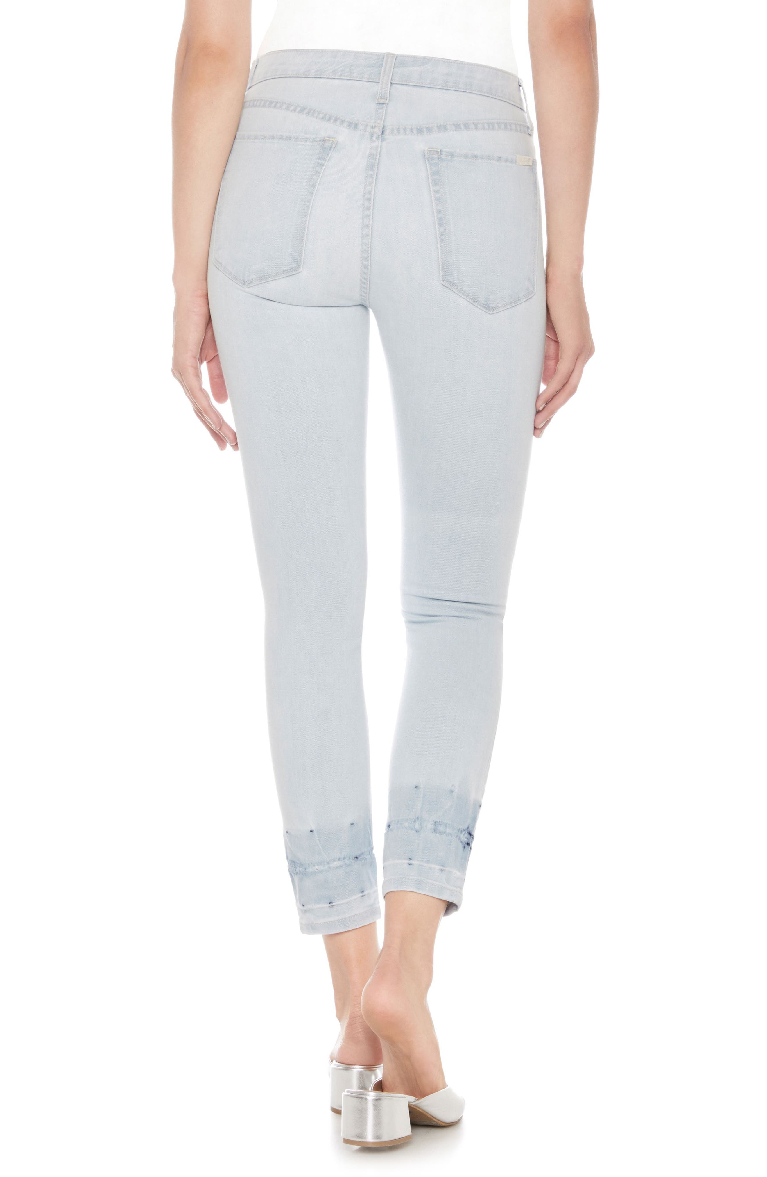The Charlie High Waist Crop Skinny Jeans,                             Alternate thumbnail 2, color,
