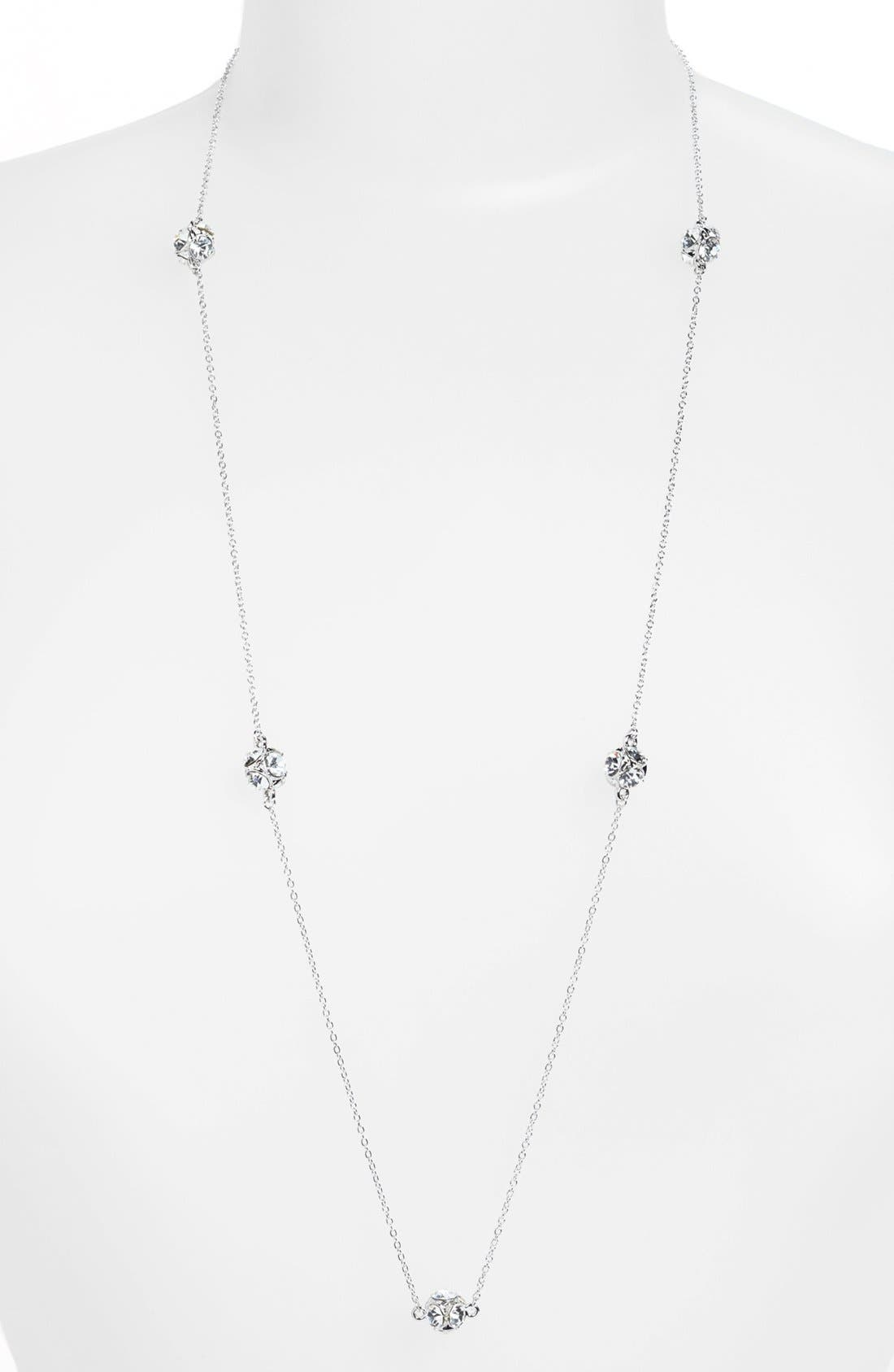 'lady marmalade' long station necklace, Main, color, 040